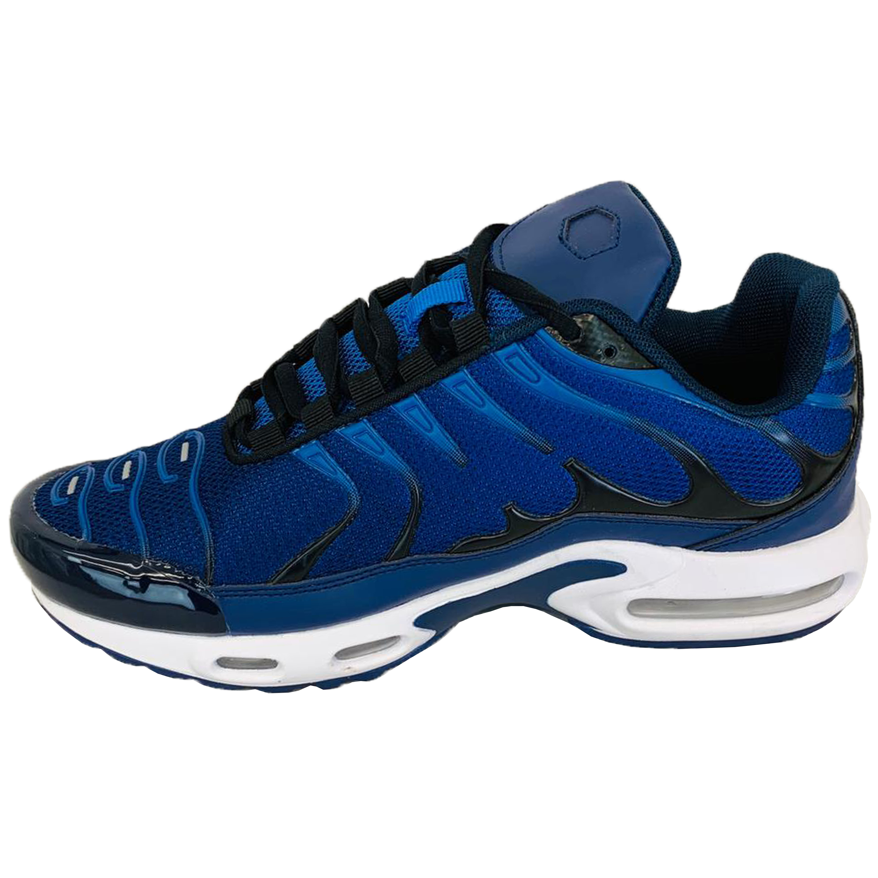 Mens-Bubble-Trainers-Lace-Up-Running-Shoes-Sneakers-Sports-Jogging-Fitness-Gym thumbnail 21
