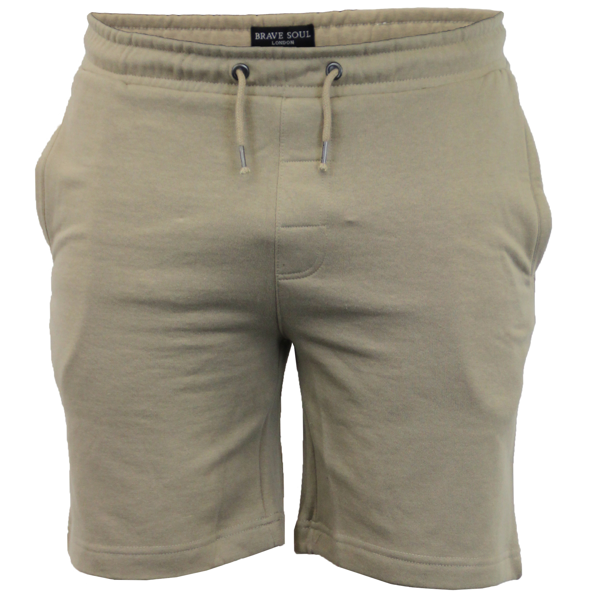 Mens-Jogger-Shorts-Tarley-by-Brave-Soul-Knee-Length-Casual-Fleece-Lined-Summer thumbnail 17