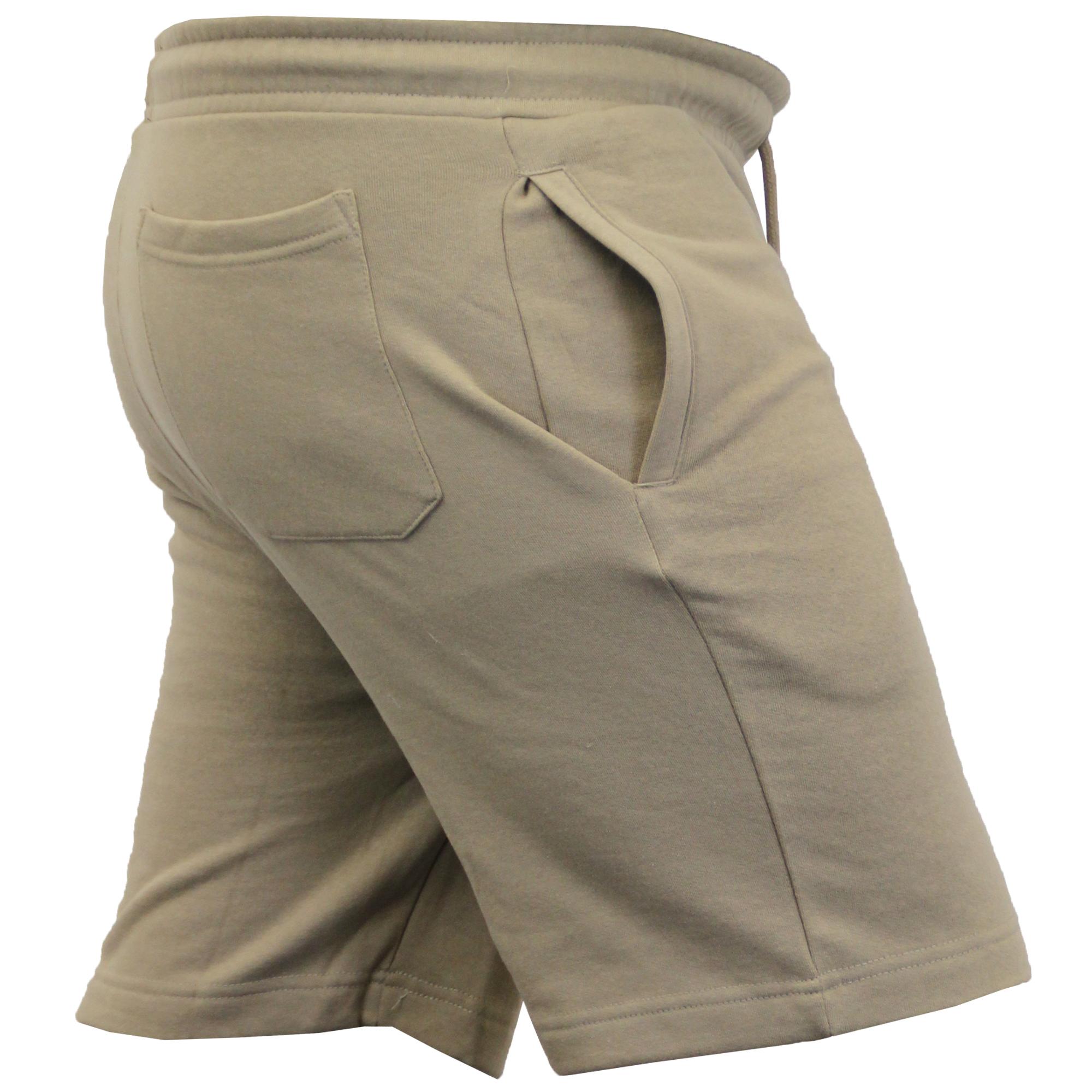 Mens-Jogger-Shorts-Tarley-by-Brave-Soul-Knee-Length-Casual-Fleece-Lined-Summer thumbnail 18