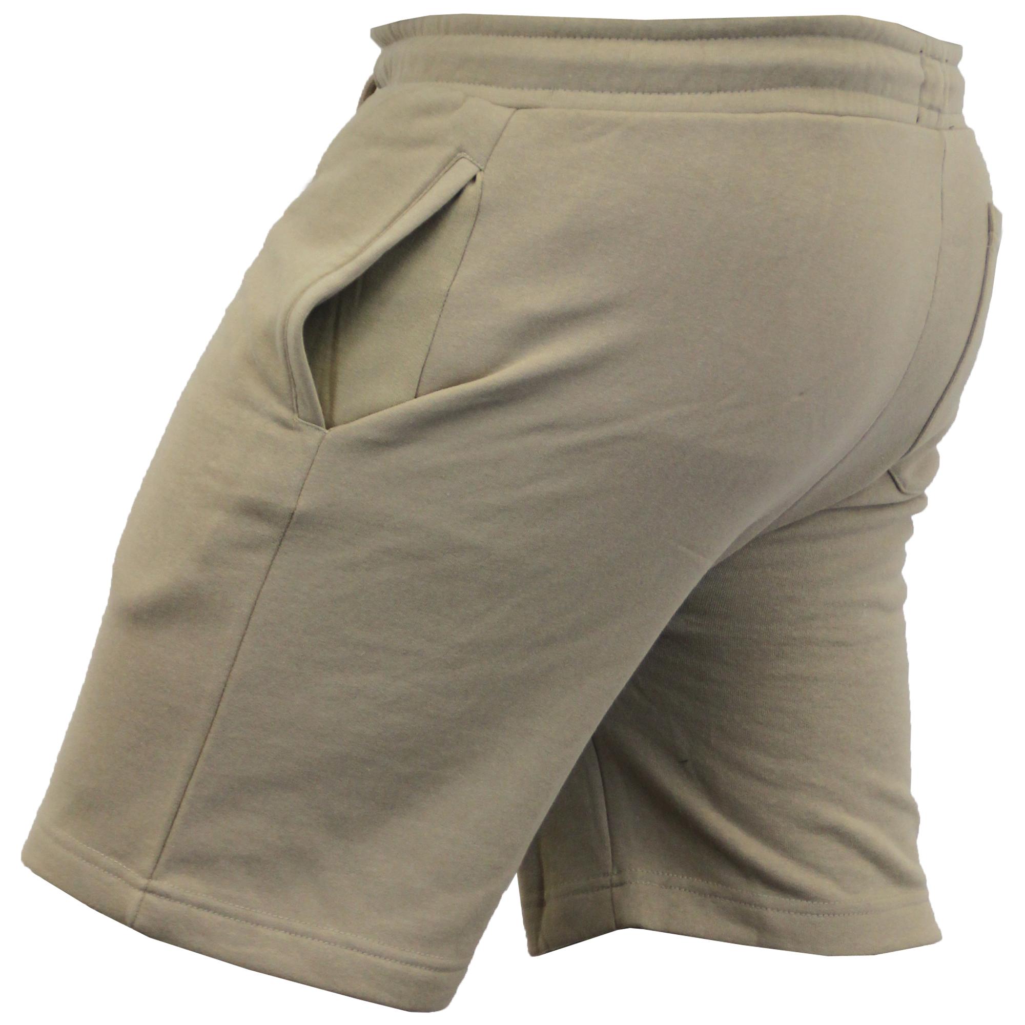 Mens-Jogger-Shorts-Tarley-by-Brave-Soul-Knee-Length-Casual-Fleece-Lined-Summer thumbnail 19
