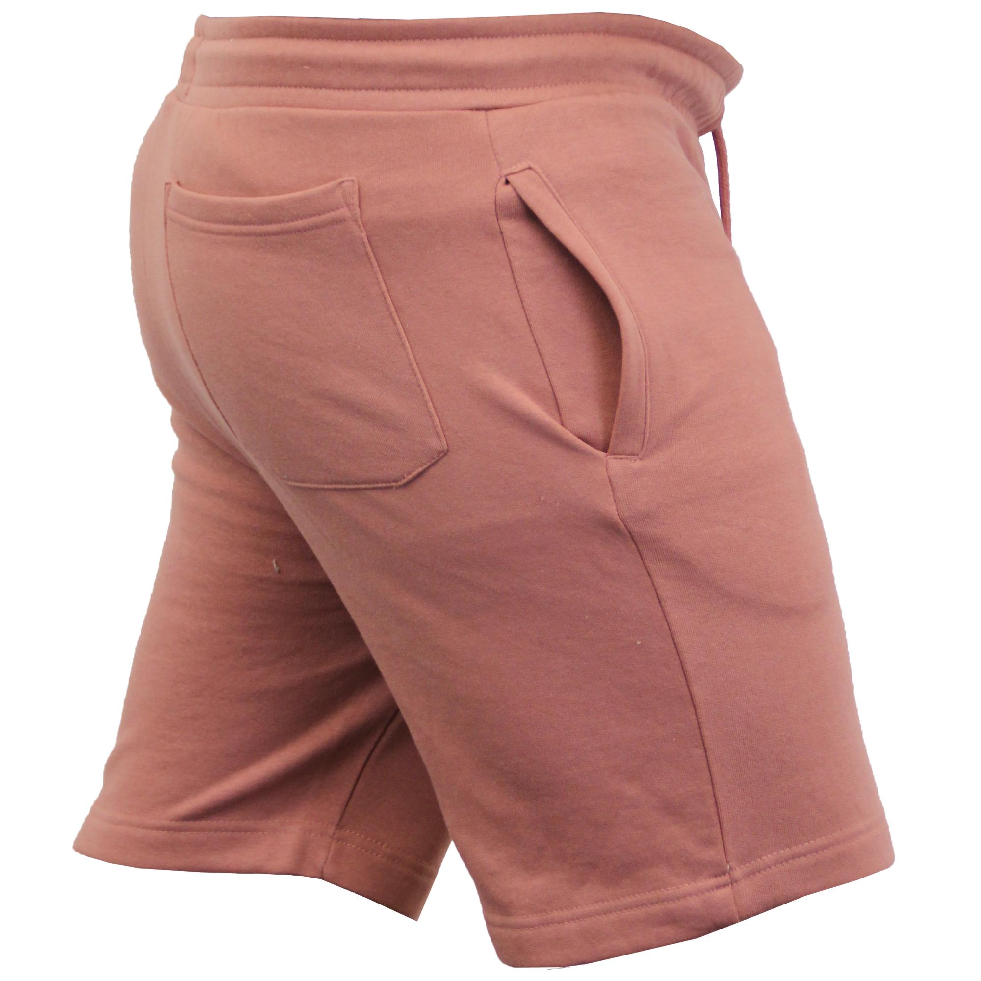 Mens-Jogger-Shorts-Tarley-by-Brave-Soul-Knee-Length-Casual-Fleece-Lined-Summer thumbnail 33