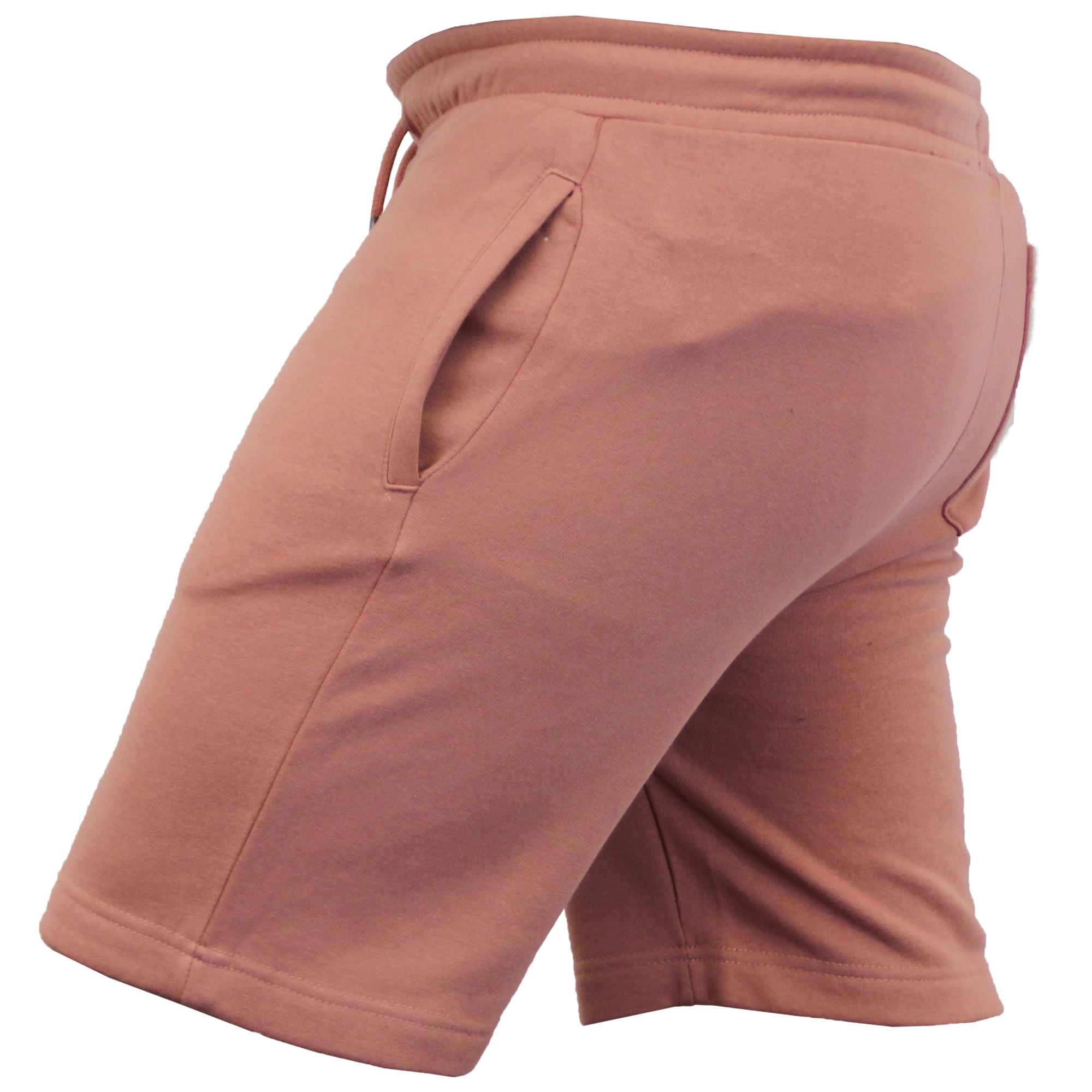 Mens-Jogger-Shorts-Tarley-by-Brave-Soul-Knee-Length-Casual-Fleece-Lined-Summer thumbnail 34