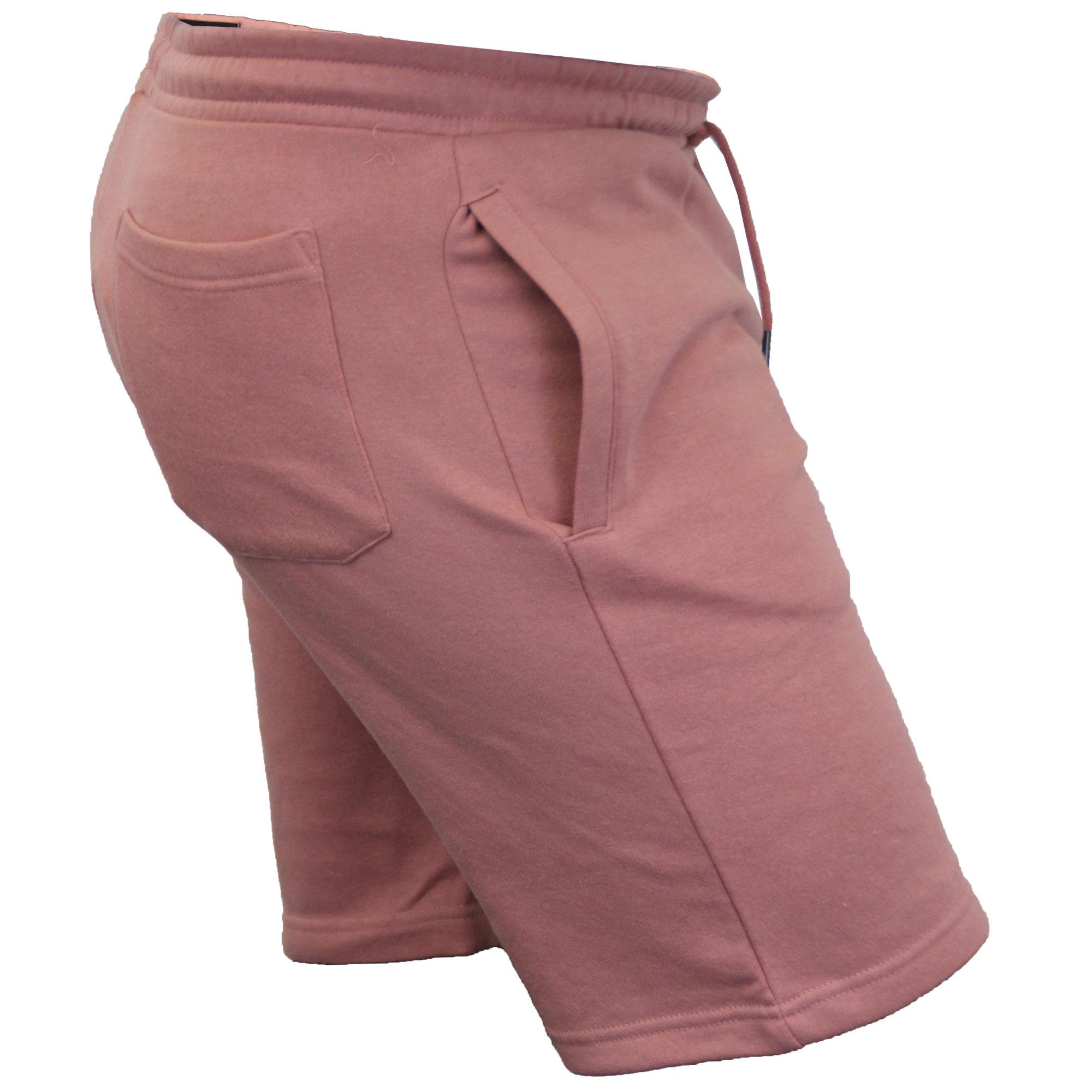 Mens-Jogger-Shorts-Tarley-by-Brave-Soul-Knee-Length-Casual-Fleece-Lined-Summer thumbnail 46