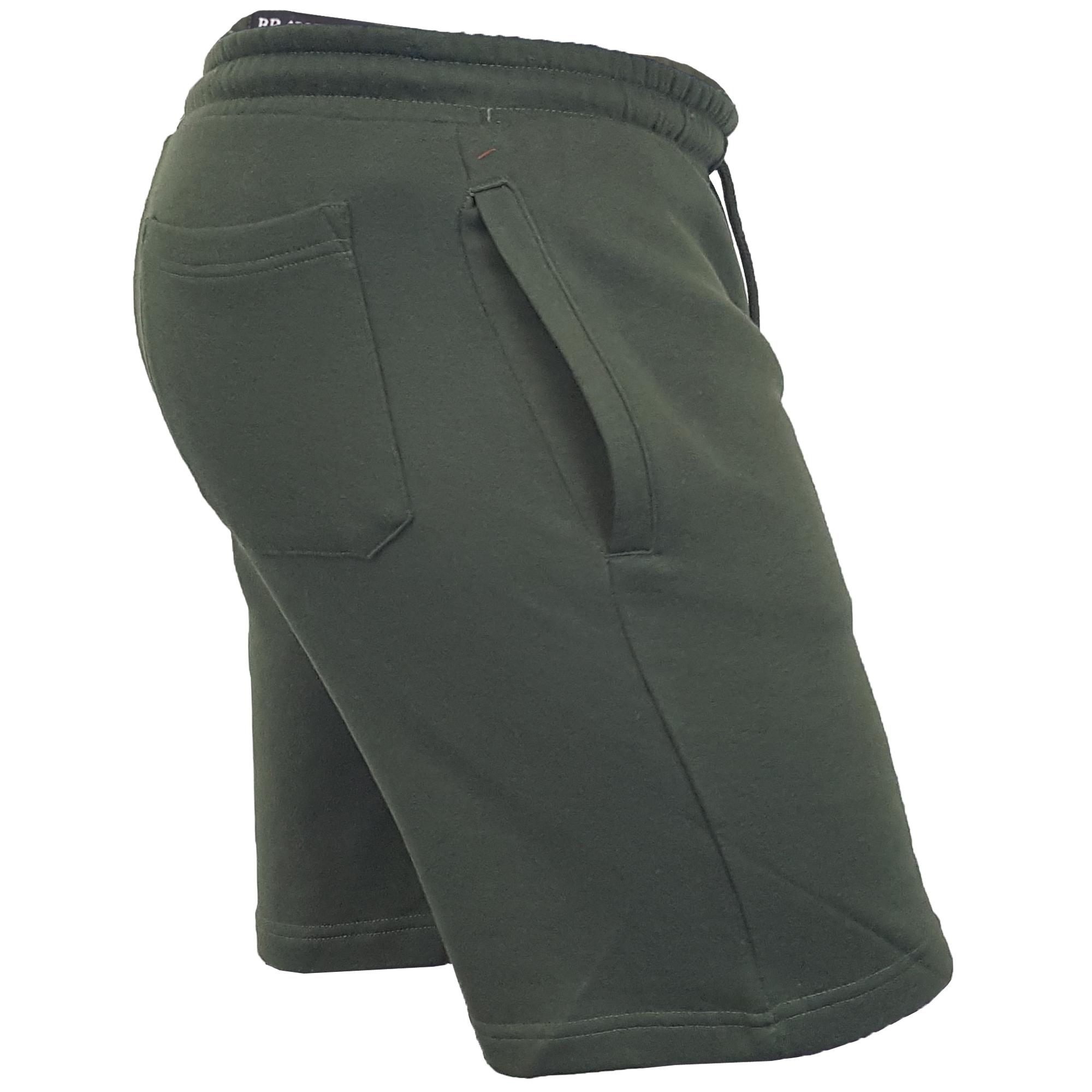 Mens-Jogger-Shorts-Tarley-by-Brave-Soul-Knee-Length-Casual-Fleece-Lined-Summer thumbnail 10