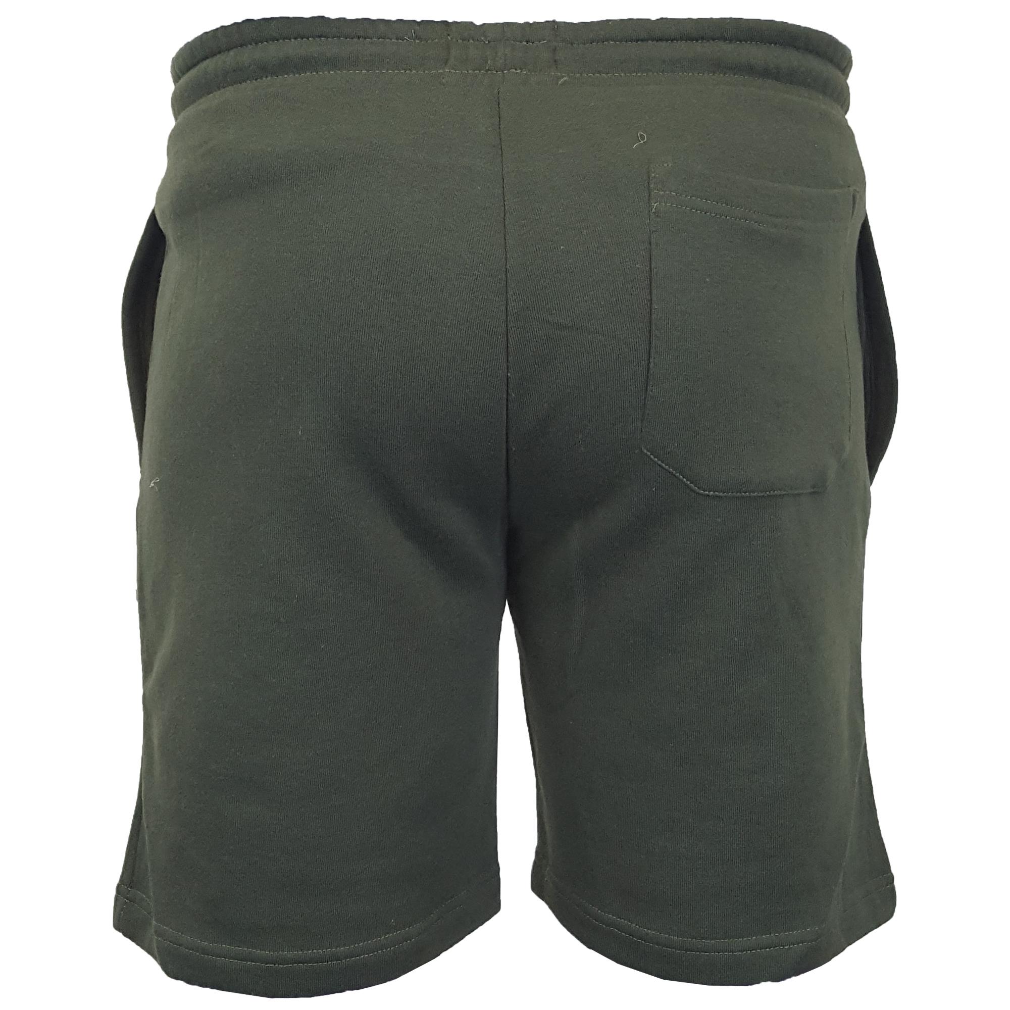 Mens-Jogger-Shorts-Tarley-by-Brave-Soul-Knee-Length-Casual-Fleece-Lined-Summer thumbnail 11