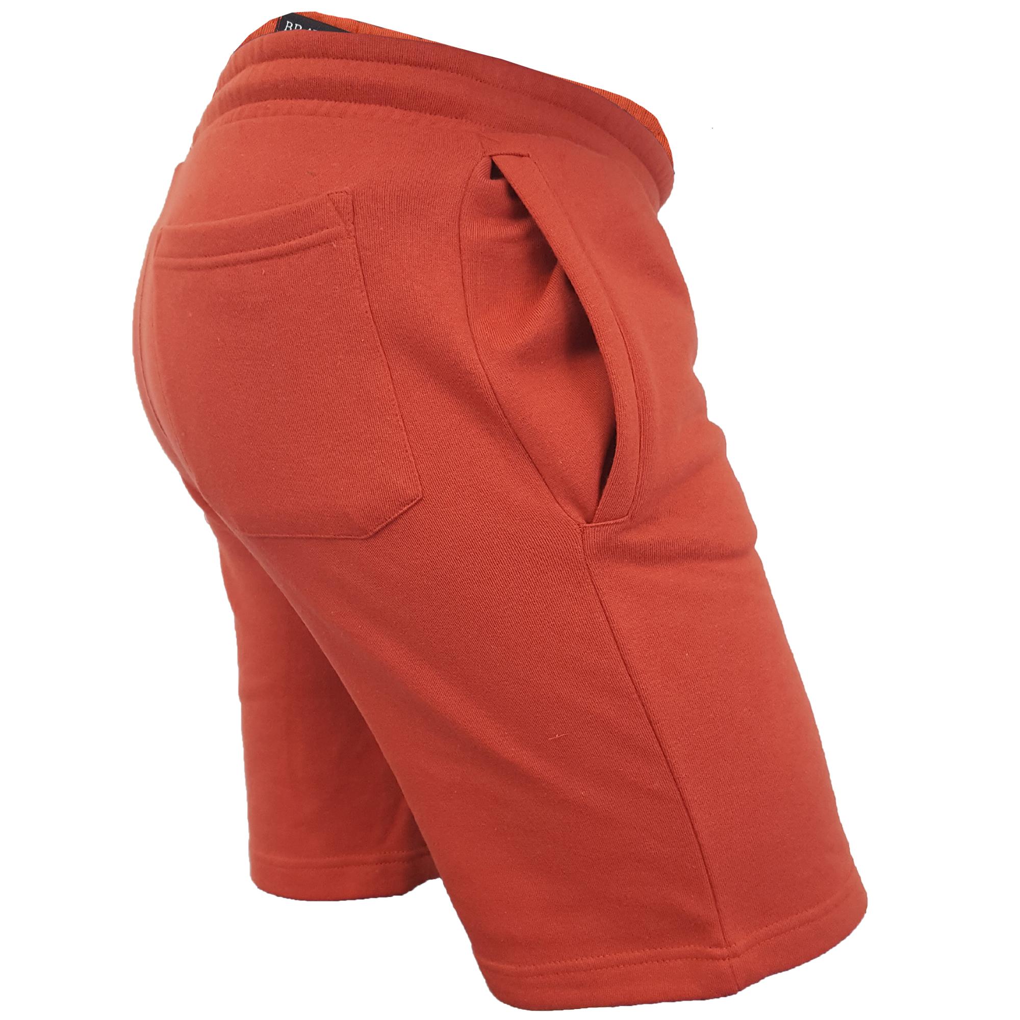 Mens-Jogger-Shorts-Tarley-by-Brave-Soul-Knee-Length-Casual-Fleece-Lined-Summer thumbnail 42