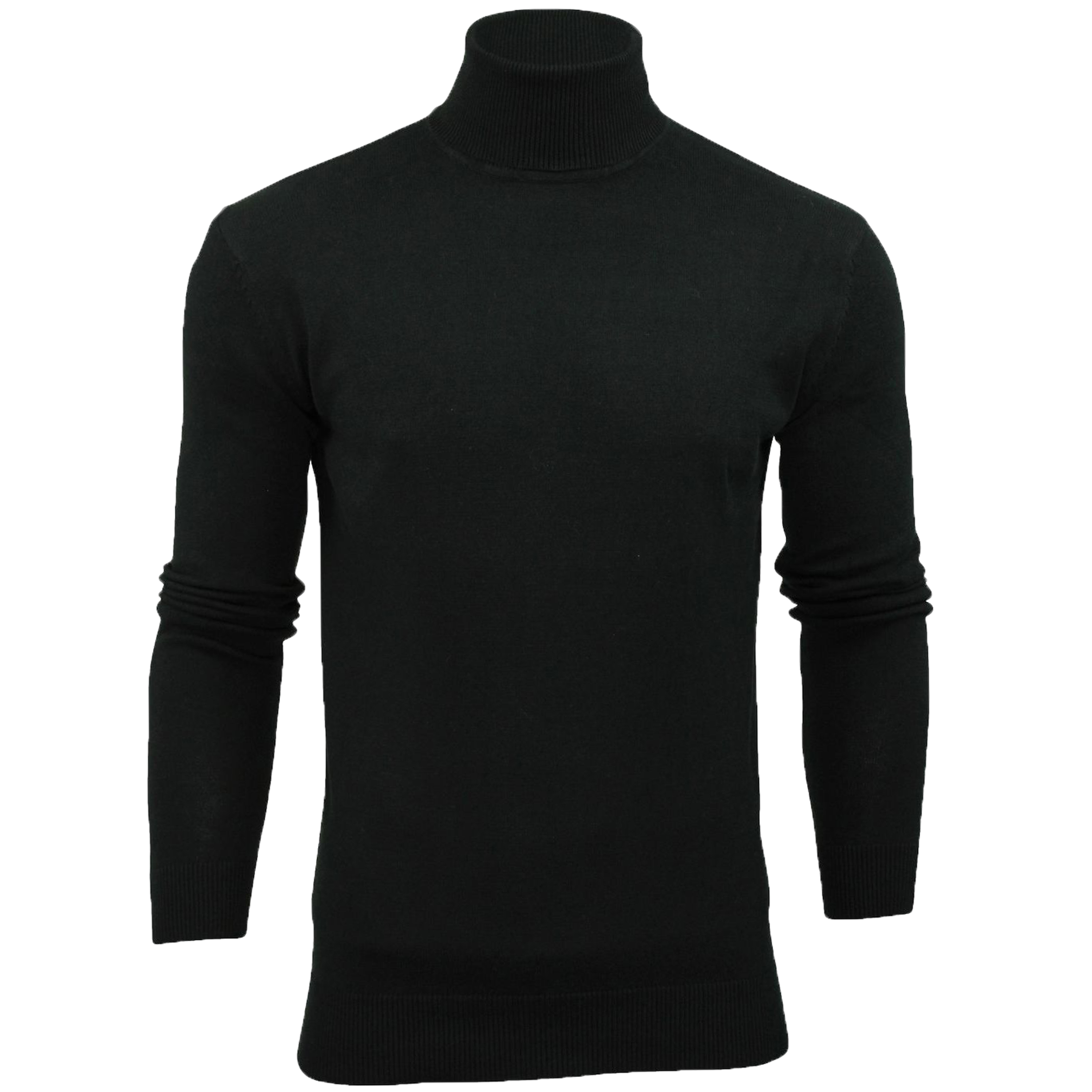 Mens-Brave-Soul-HUME-Roll-Neck-Polo-Light-Cotton-Knitwear-Jumper-Sweater-Winter thumbnail 2