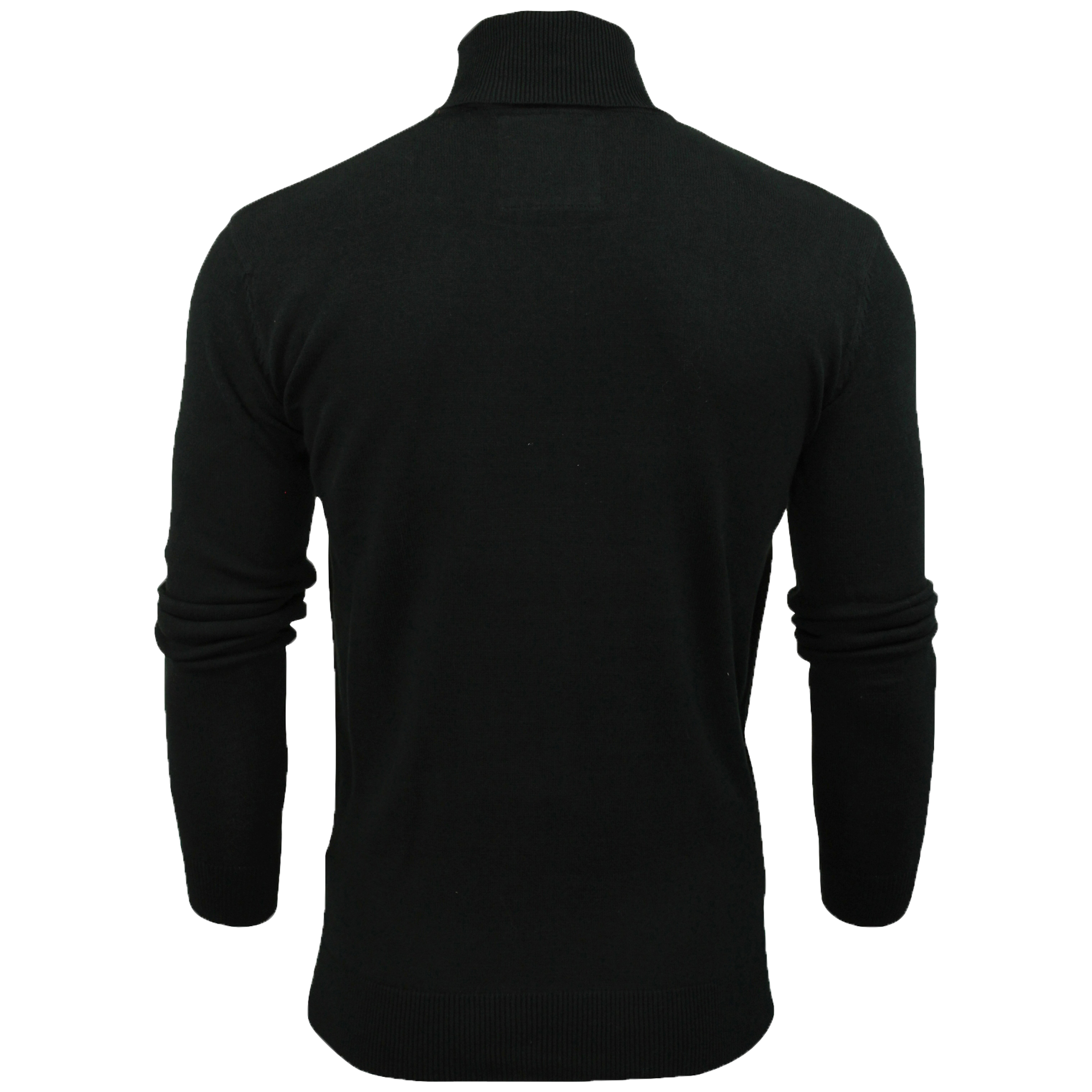 Mens-Brave-Soul-HUME-Roll-Neck-Polo-Light-Cotton-Knitwear-Jumper-Sweater-Winter thumbnail 3