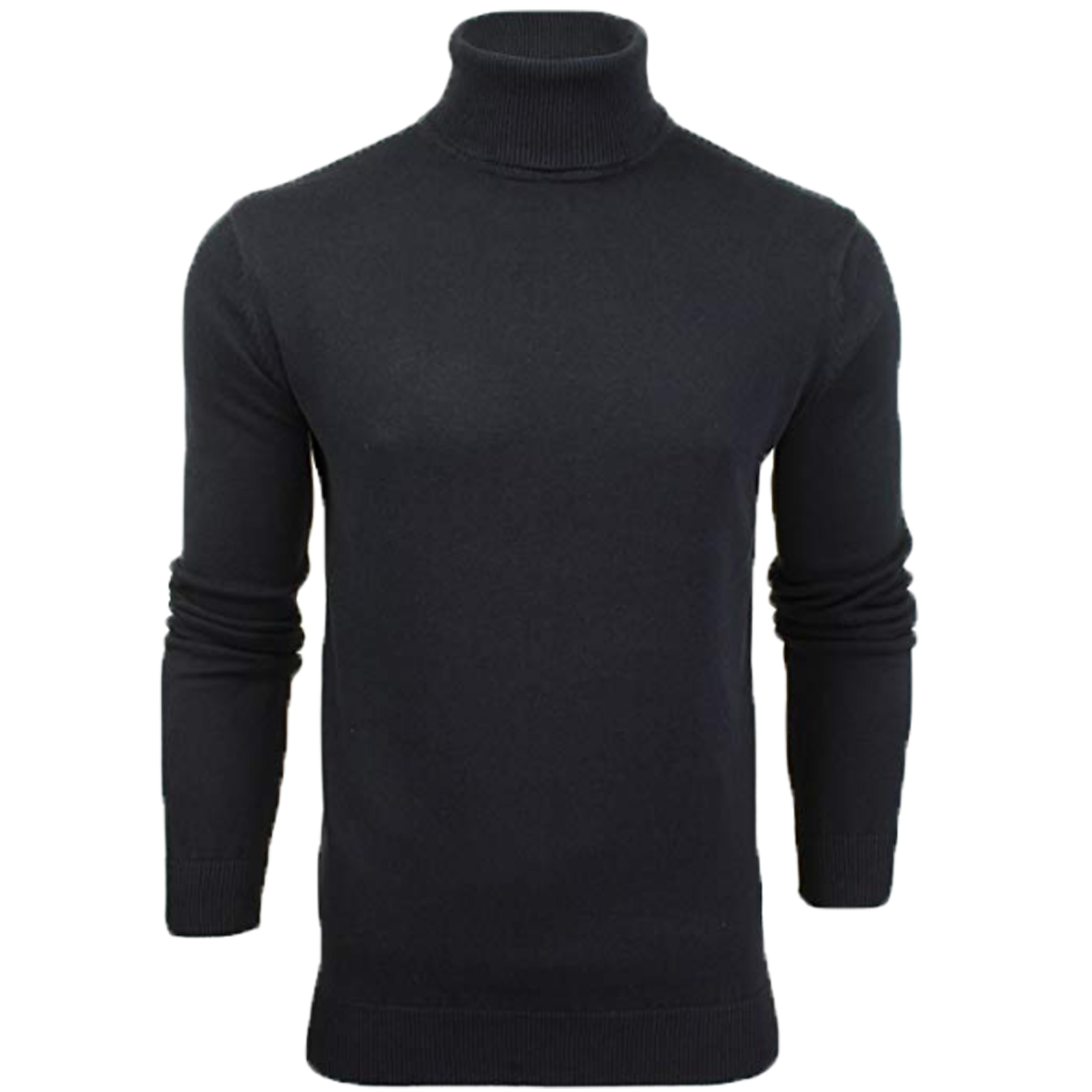 Mens-Brave-Soul-HUME-Roll-Neck-Polo-Light-Cotton-Knitwear-Jumper-Sweater-Winter thumbnail 17