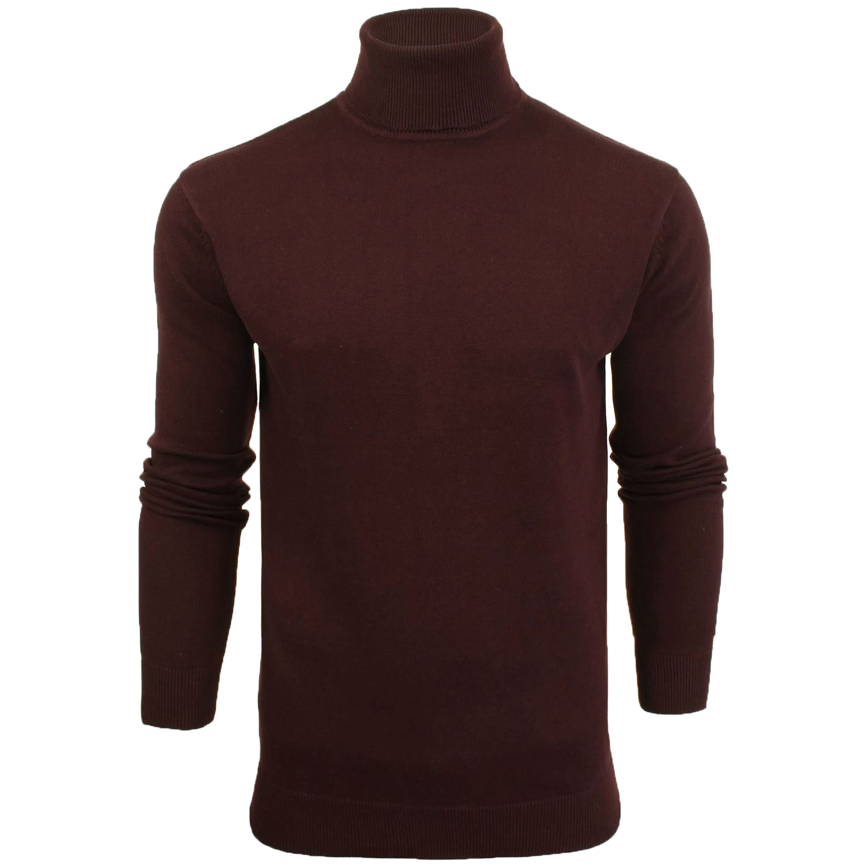 Mens-Brave-Soul-HUME-Roll-Neck-Polo-Light-Cotton-Knitwear-Jumper-Sweater-Winter thumbnail 29