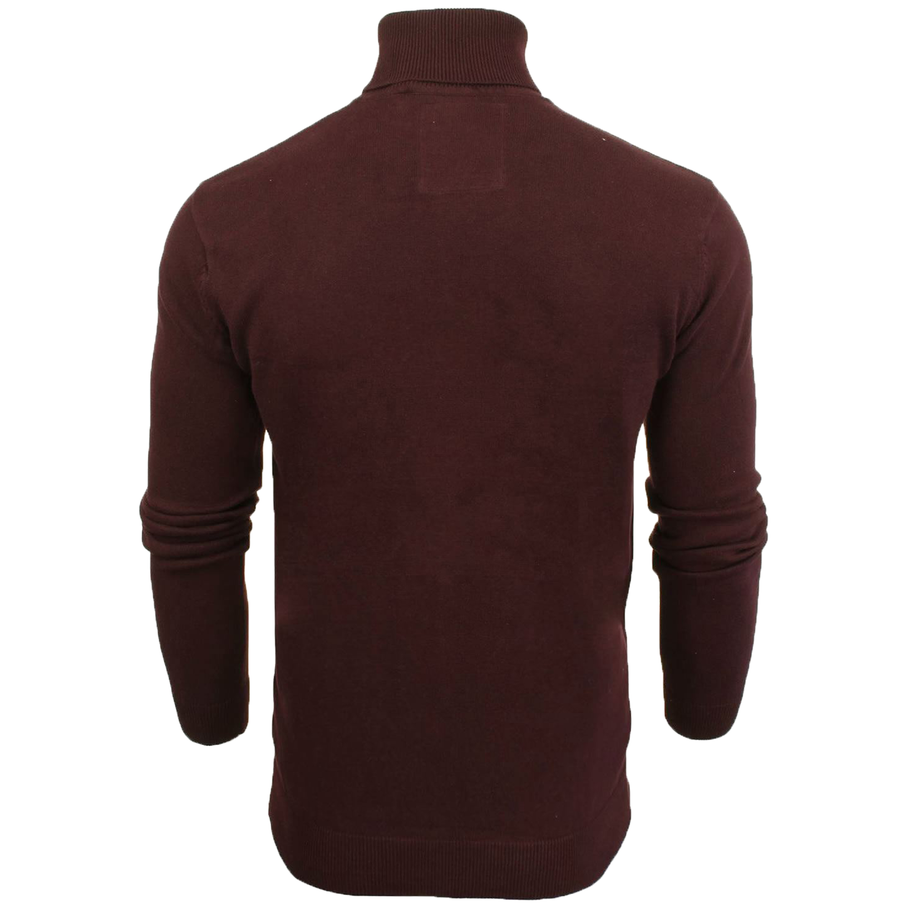 Mens-Brave-Soul-HUME-Roll-Neck-Polo-Light-Cotton-Knitwear-Jumper-Sweater-Winter thumbnail 30