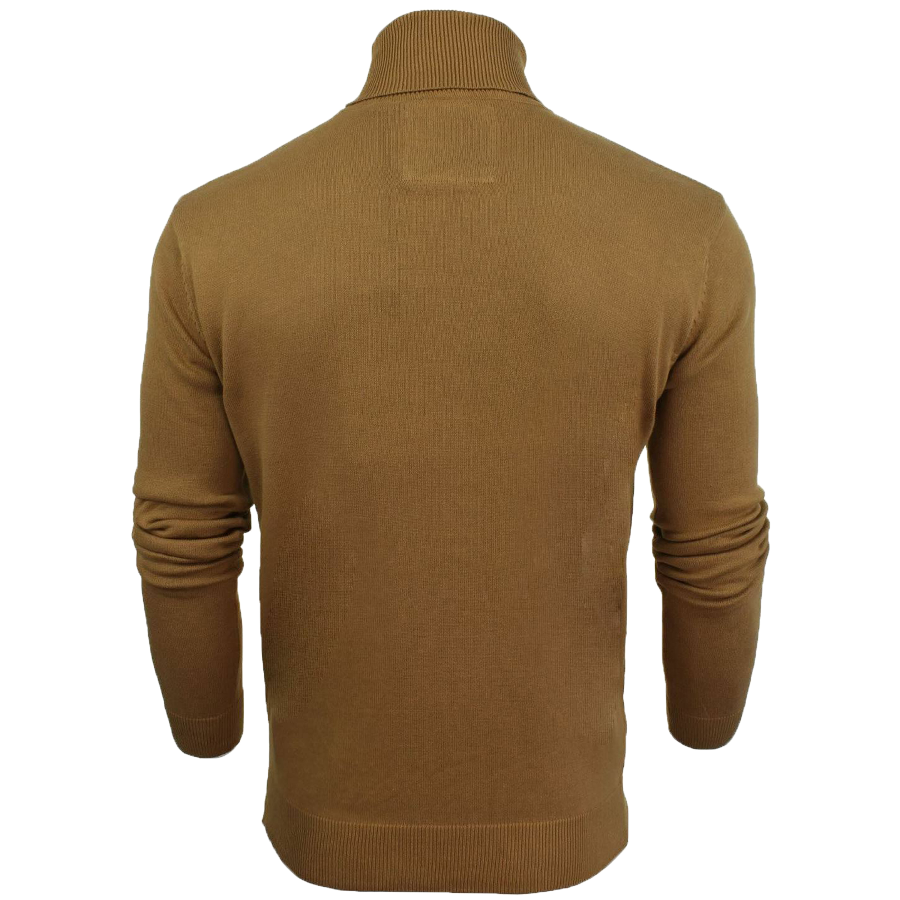 Mens-Brave-Soul-HUME-Roll-Neck-Polo-Light-Cotton-Knitwear-Jumper-Sweater-Winter thumbnail 9