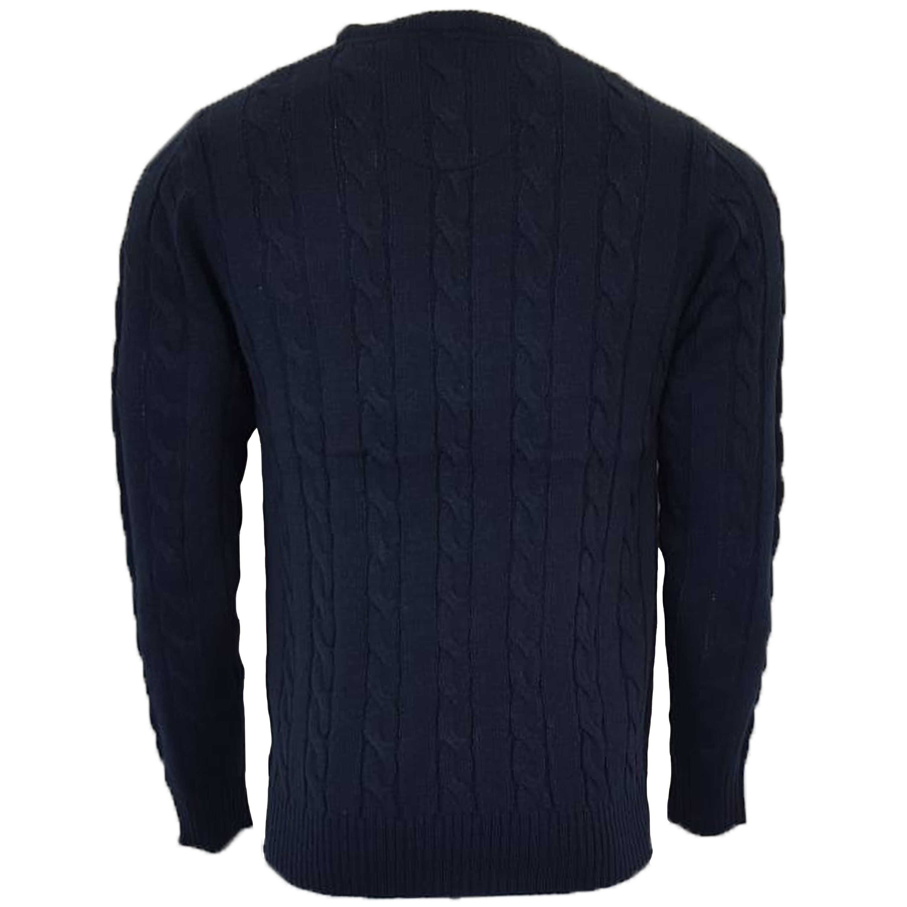 Mens-Wool-Mix-Jumper-Brave-Soul-Chunky-Knitted-Pullover-Sweater-Top-MAOISM-New thumbnail 6
