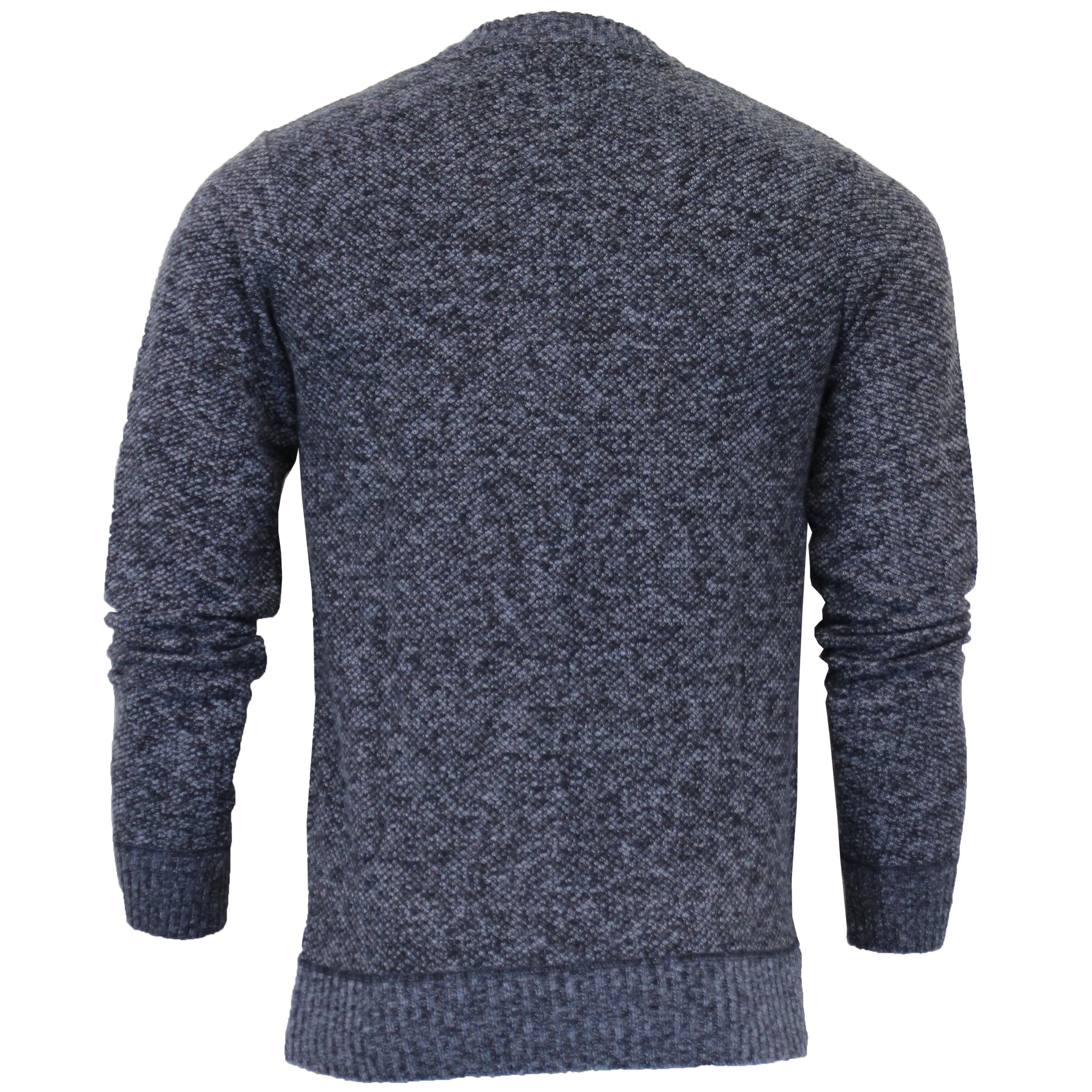 Mens-Jumper-Brave-Soul-Knitted-Sweater-Pullover-GOODWIN-Crew-Neck-Top-Winter-New thumbnail 15