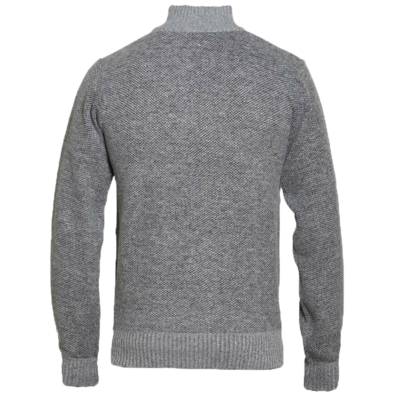 Maglione-da-uomo-D555-Duke-Big-King-Size-A-Maglia-Maglione-Pullover-Zip-Top-Inverno-Zane miniatura 3