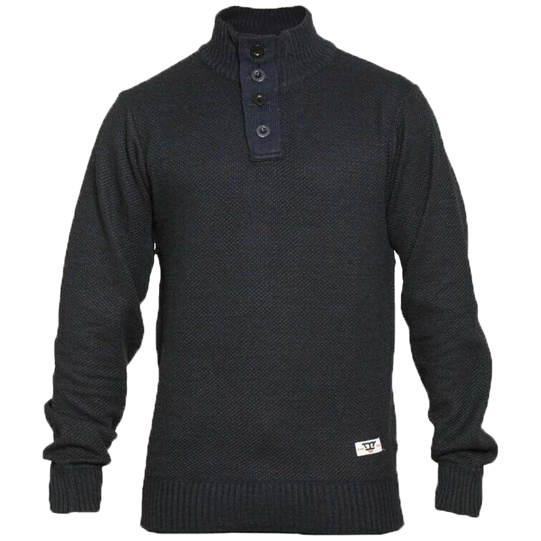 Maglione-da-uomo-D555-Duke-Big-King-Size-A-Maglia-Maglione-Pullover-Zip-Top-Inverno-Zane miniatura 5