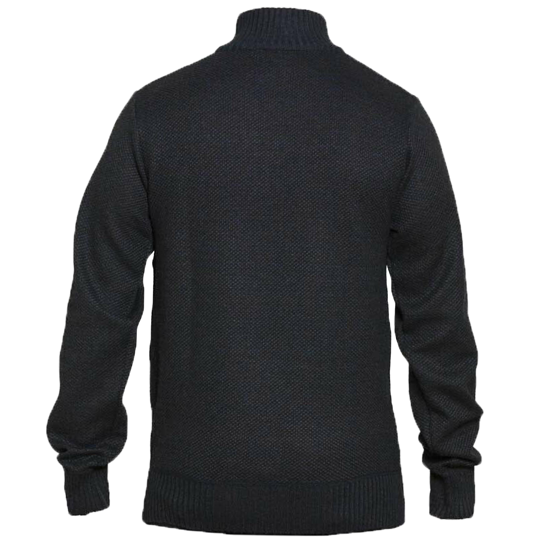 Maglione-da-uomo-D555-Duke-Big-King-Size-A-Maglia-Maglione-Pullover-Zip-Top-Inverno-Zane miniatura 6
