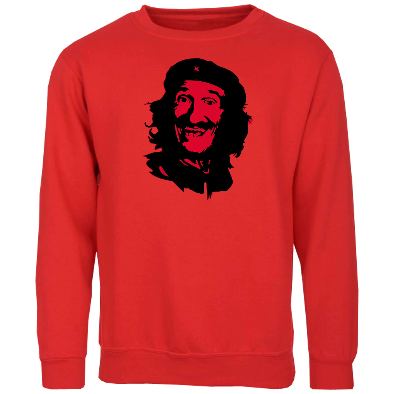 Mens-T-Shirt-Sweatshirt-Che-Guevara-Face-Print-Chucky-Chuckle-Hooded-Top-Fashion thumbnail 16