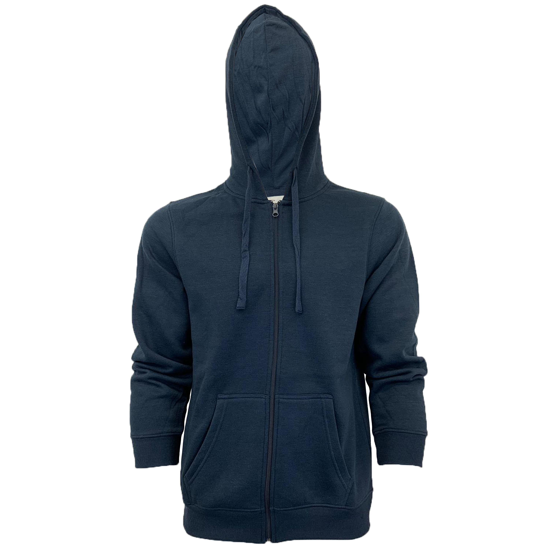 Mens-Sweatshirt-Over-The-Head-Hoodie-Top-Pullover-Zip-Fleece-Fashion-Winter-New thumbnail 30