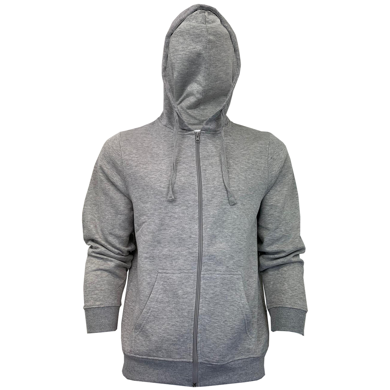Mens-Sweatshirt-Over-The-Head-Hoodie-Top-Pullover-Zip-Fleece-Fashion-Winter-New thumbnail 22