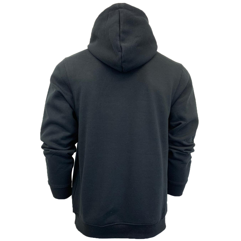 Mens-Sweatshirt-Over-The-Head-Hoodie-Top-Pullover-Zip-Fleece-Fashion-Winter-New thumbnail 4