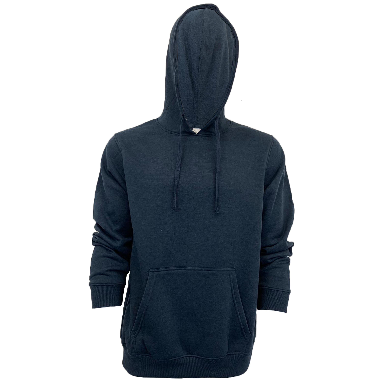Mens-Sweatshirt-Over-The-Head-Hoodie-Top-Pullover-Zip-Fleece-Fashion-Winter-New thumbnail 26