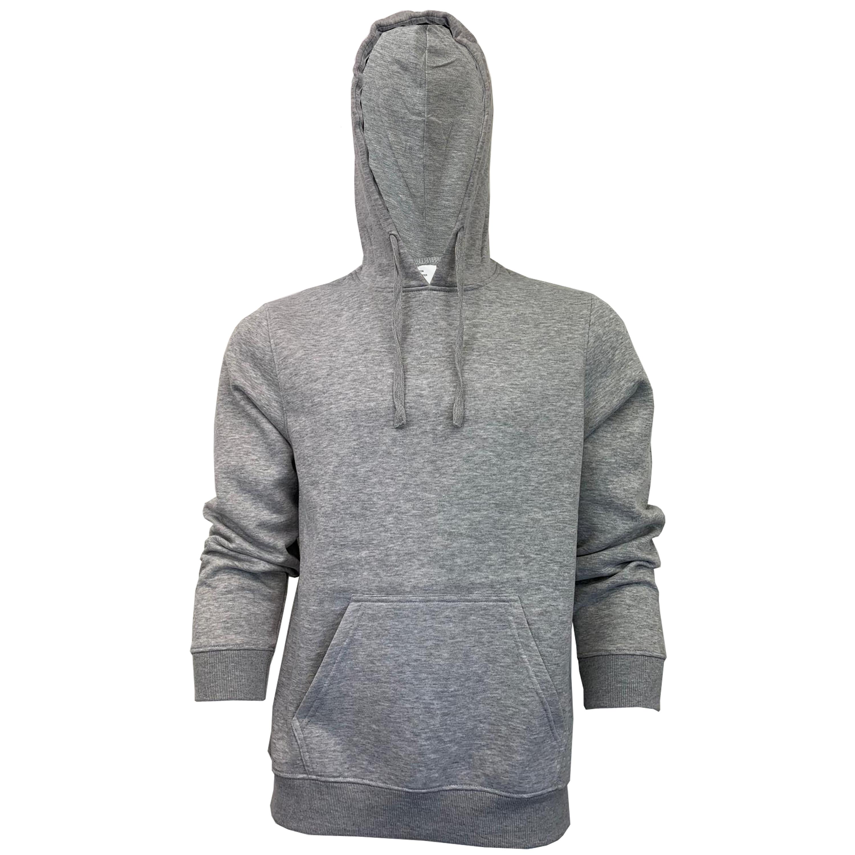 Mens-Sweatshirt-Over-The-Head-Hoodie-Top-Pullover-Zip-Fleece-Fashion-Winter-New thumbnail 18