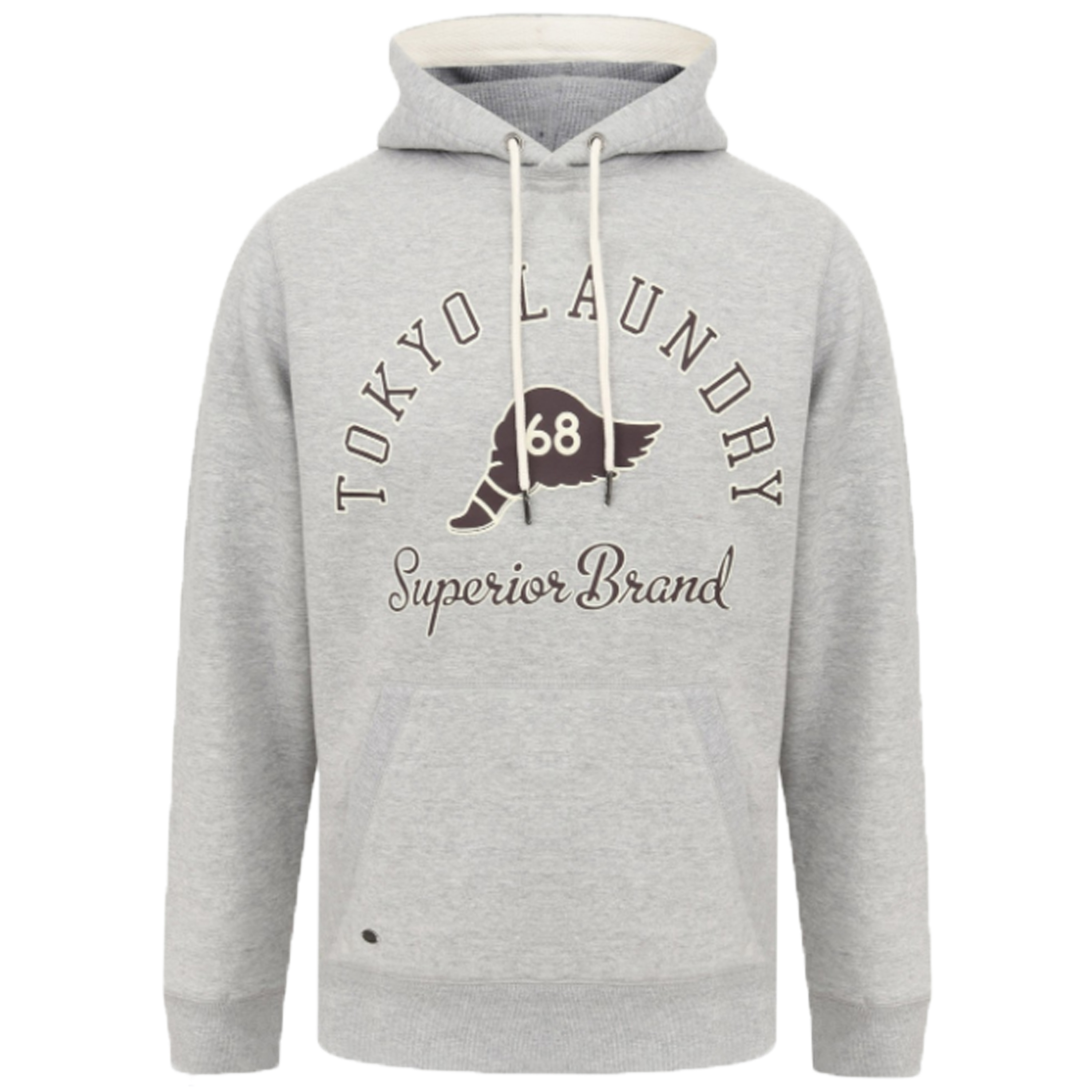 Mens-Sweatshirt-Tokyo-Laundry-Sherpa-Fleece-Hooded-Top-Pullover-Winter-Fashion thumbnail 7