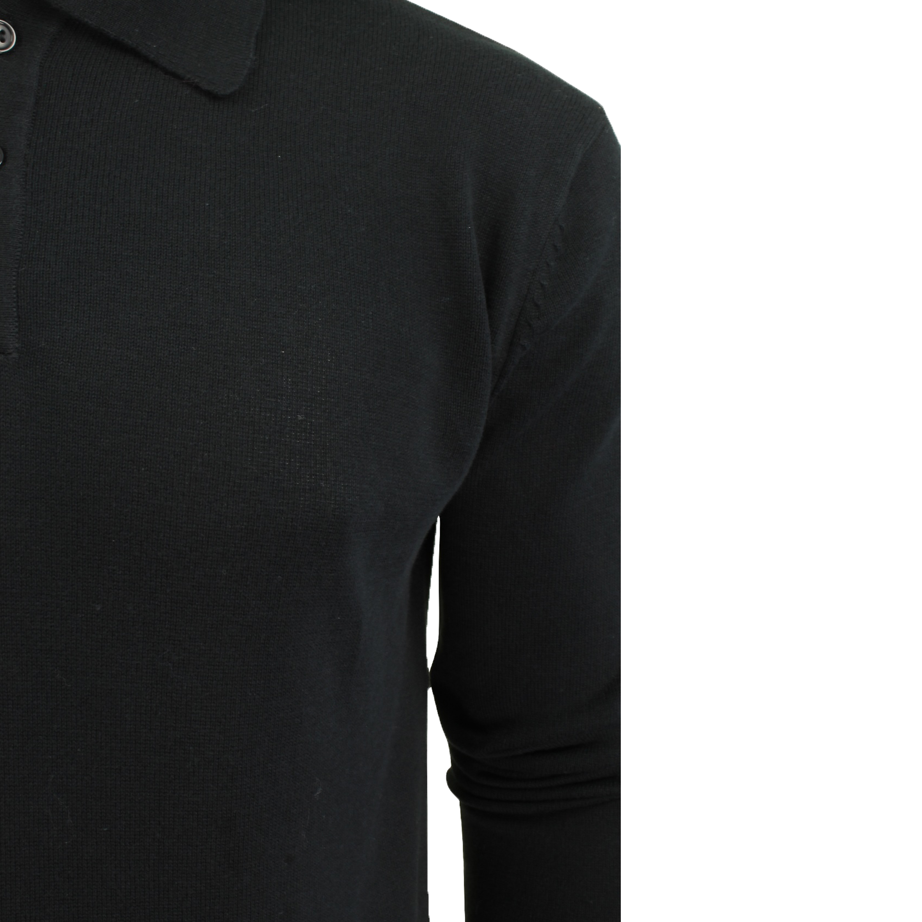 Mens-Knitted-Jumper-Brave-Soul-Polo-Top-Sweater-PLACKET-Pullover-Lightweight-New thumbnail 10
