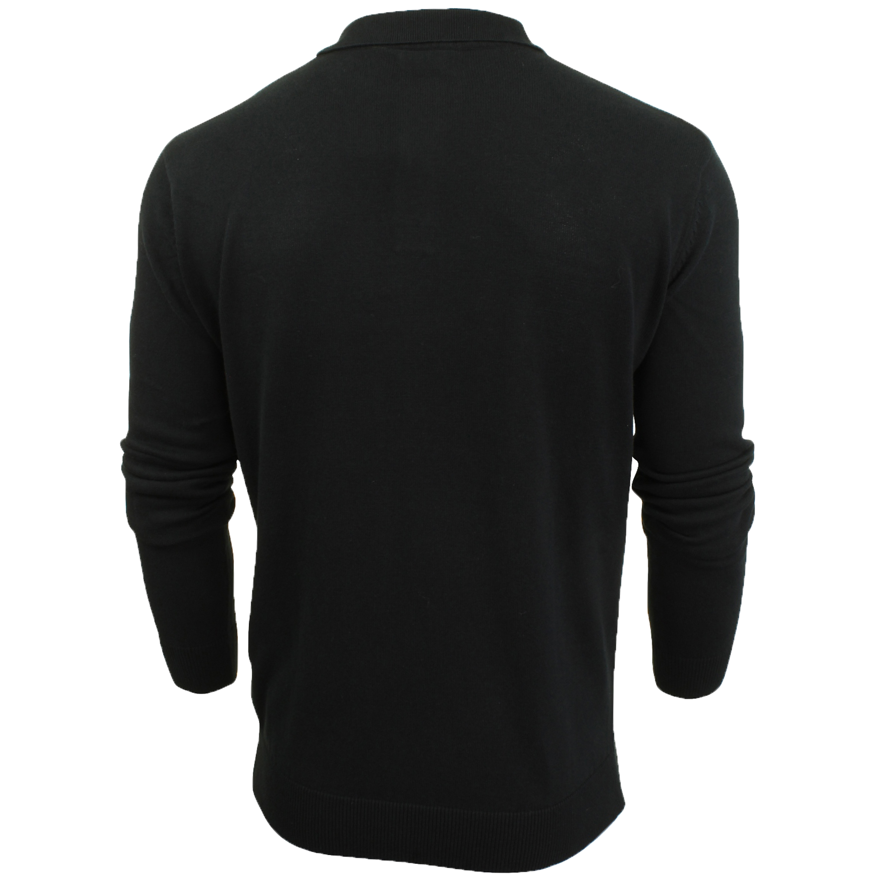 Mens-Knitted-Jumper-Brave-Soul-Polo-Top-Sweater-PLACKET-Pullover-Lightweight-New thumbnail 11