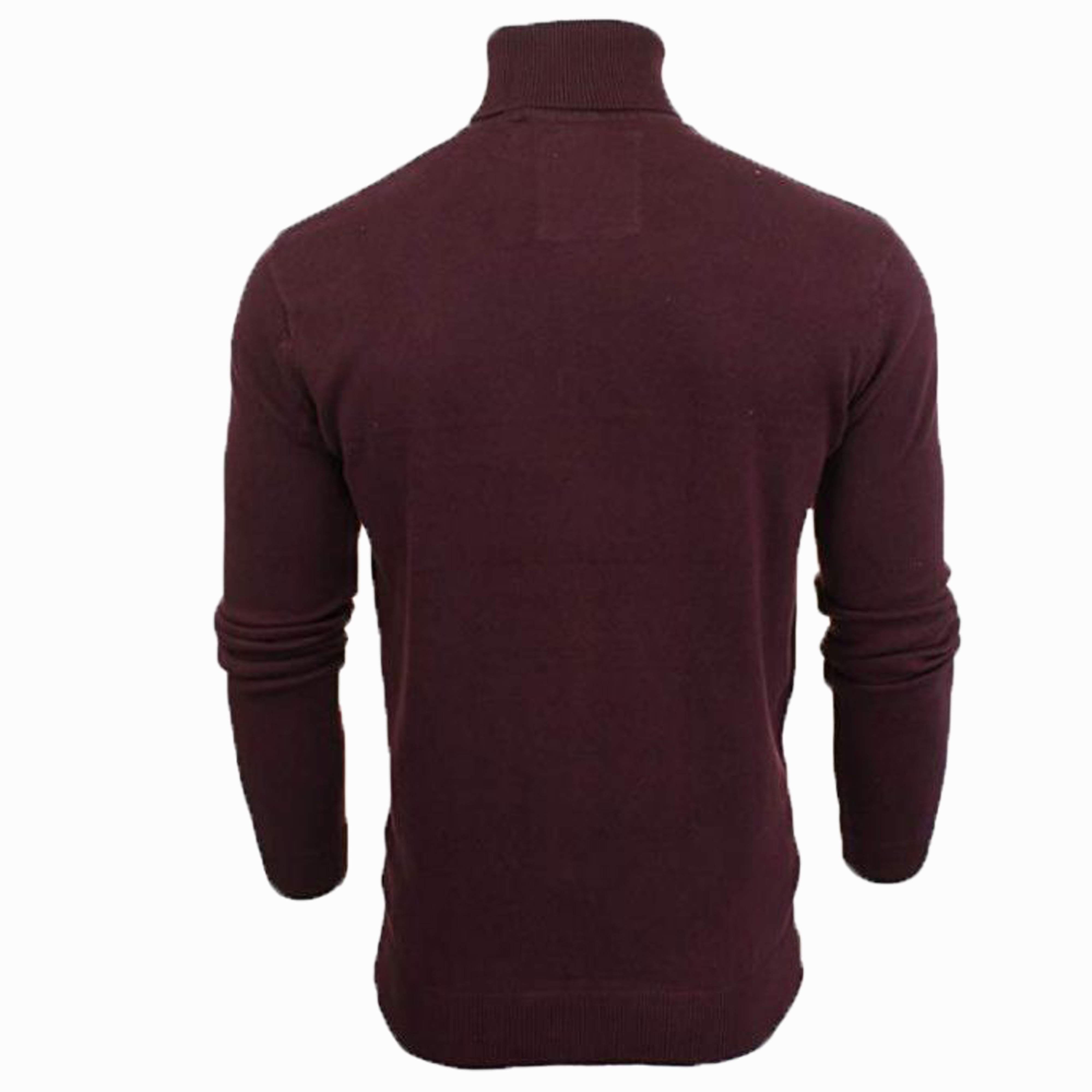 Mens-Brave-Soul-HUME-Roll-Neck-Polo-Light-Cotton-Knitwear-Jumper-Sweater-Winter thumbnail 24