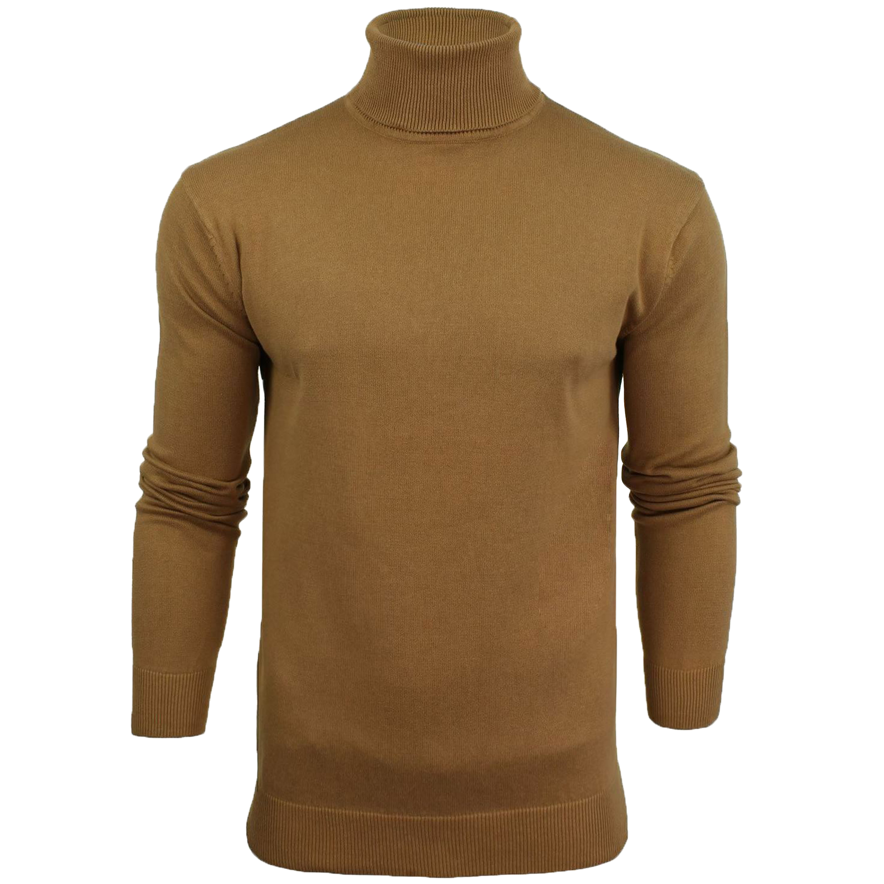 Mens-Brave-Soul-HUME-Roll-Neck-Polo-Light-Cotton-Knitwear-Jumper-Sweater-Winter thumbnail 14