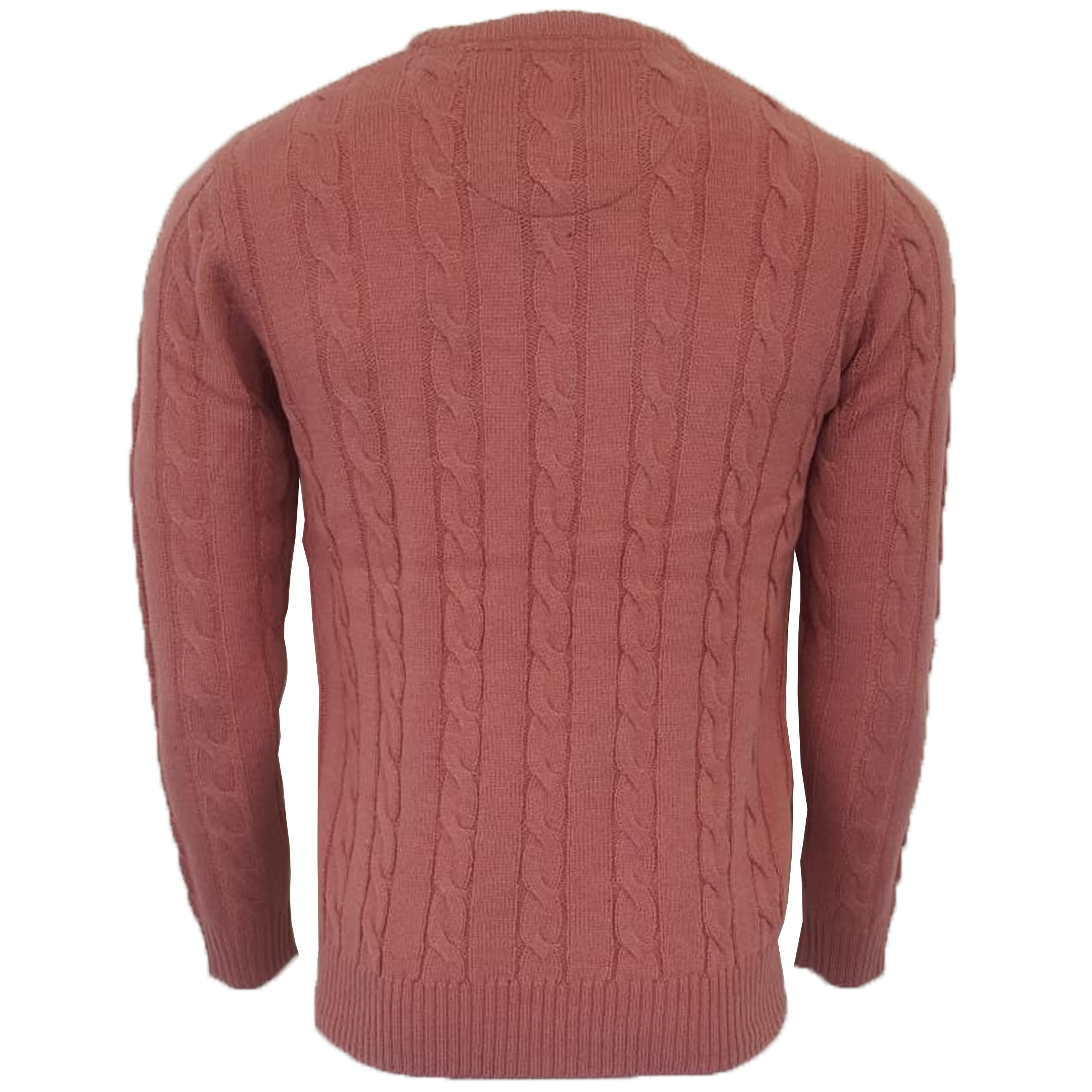 Mens-Jumper-Brave-Soul-Knitted-Sweater-Pullover-GOODWIN-Crew-Neck-Top-Winter-New thumbnail 21