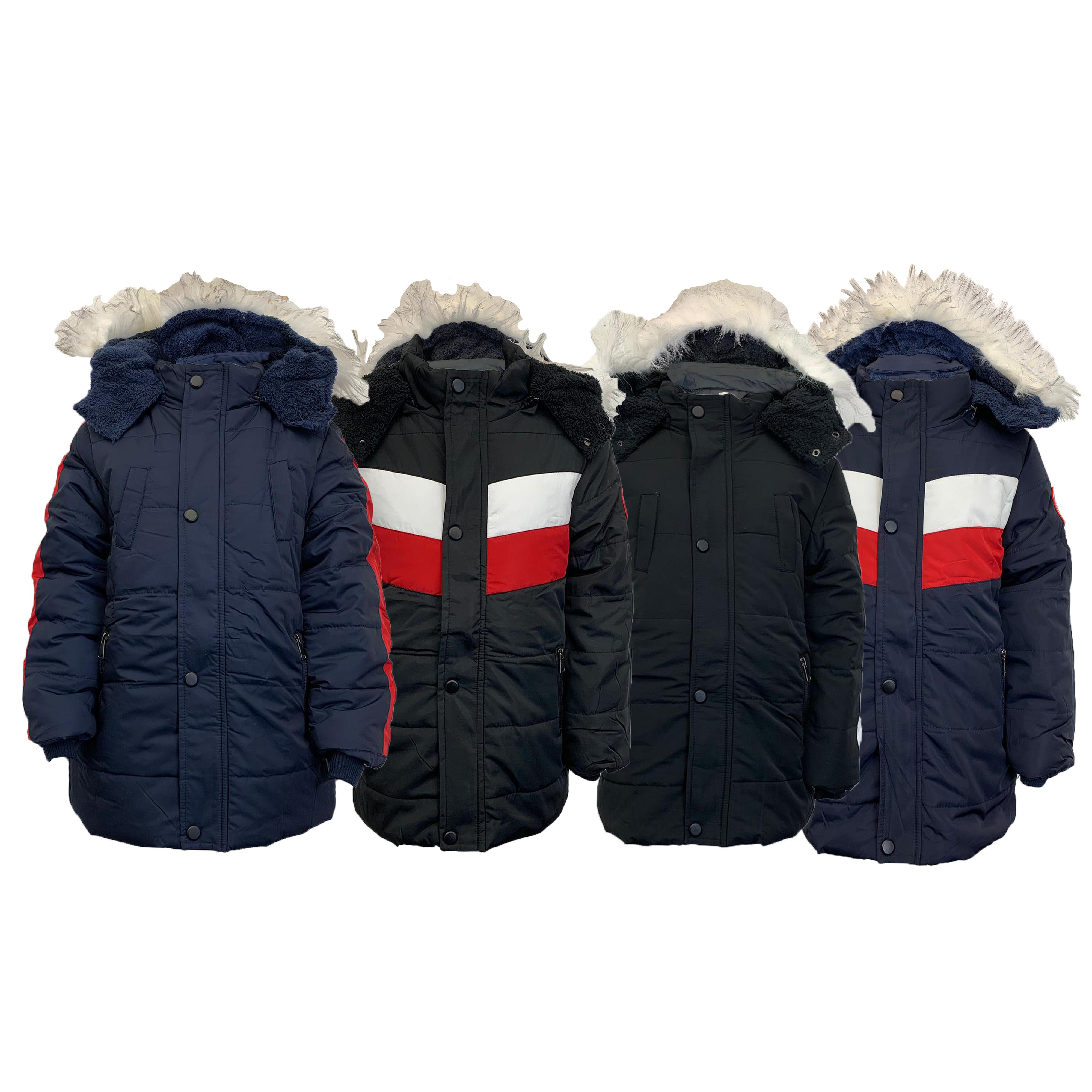 Cappotto-Parka-Ragazzi-Bambini-Scuola-Imbottito-BUBBLE-trapuntato-con-cappuccio-nuova-moda miniatura 6