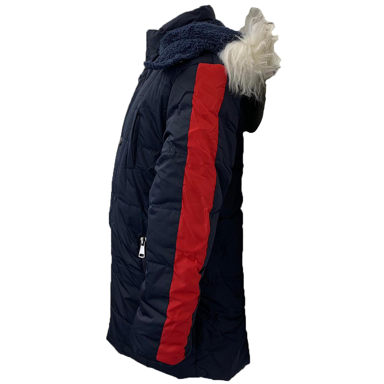 Cappotto-Parka-Ragazzi-Bambini-Scuola-Imbottito-BUBBLE-trapuntato-con-cappuccio-nuova-moda miniatura 9