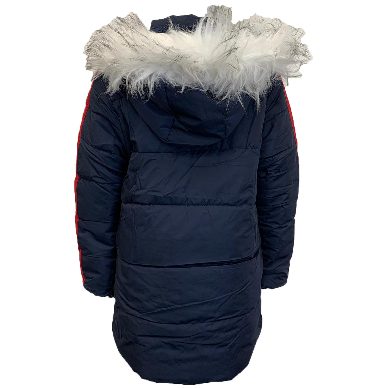 Cappotto-Parka-Ragazzi-Bambini-Scuola-Imbottito-BUBBLE-trapuntato-con-cappuccio-nuova-moda miniatura 10
