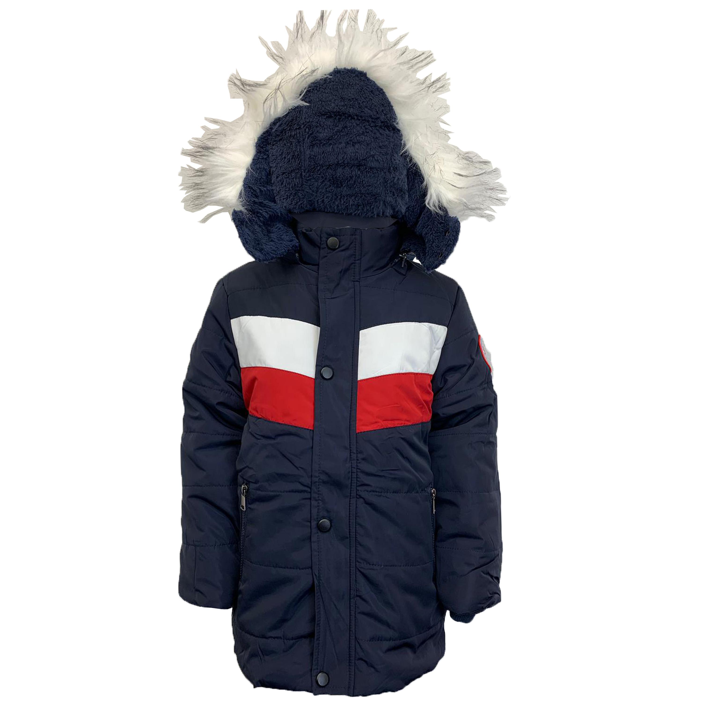 Cappotto-Parka-Ragazzi-Bambini-Scuola-Imbottito-BUBBLE-trapuntato-con-cappuccio-nuova-moda miniatura 13