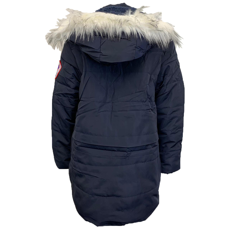 Cappotto-Parka-Ragazzi-Bambini-Scuola-Imbottito-BUBBLE-trapuntato-con-cappuccio-nuova-moda miniatura 15