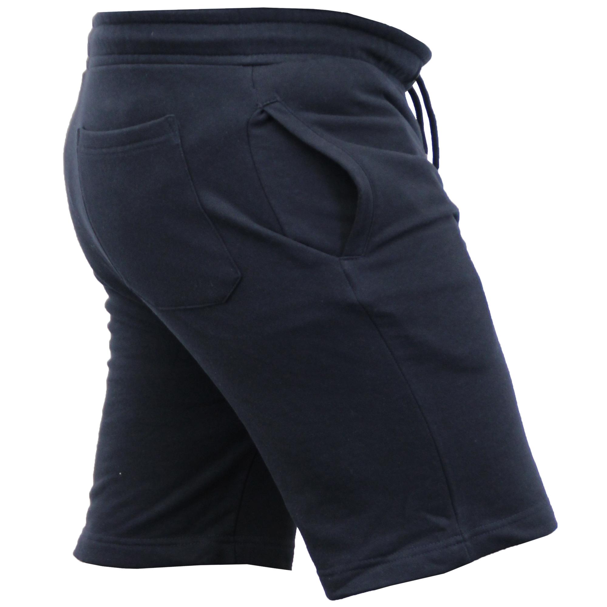 Mens-Jogger-Shorts-Tarley-by-Brave-Soul-Knee-Length-Casual-Fleece-Lined-Summer thumbnail 26