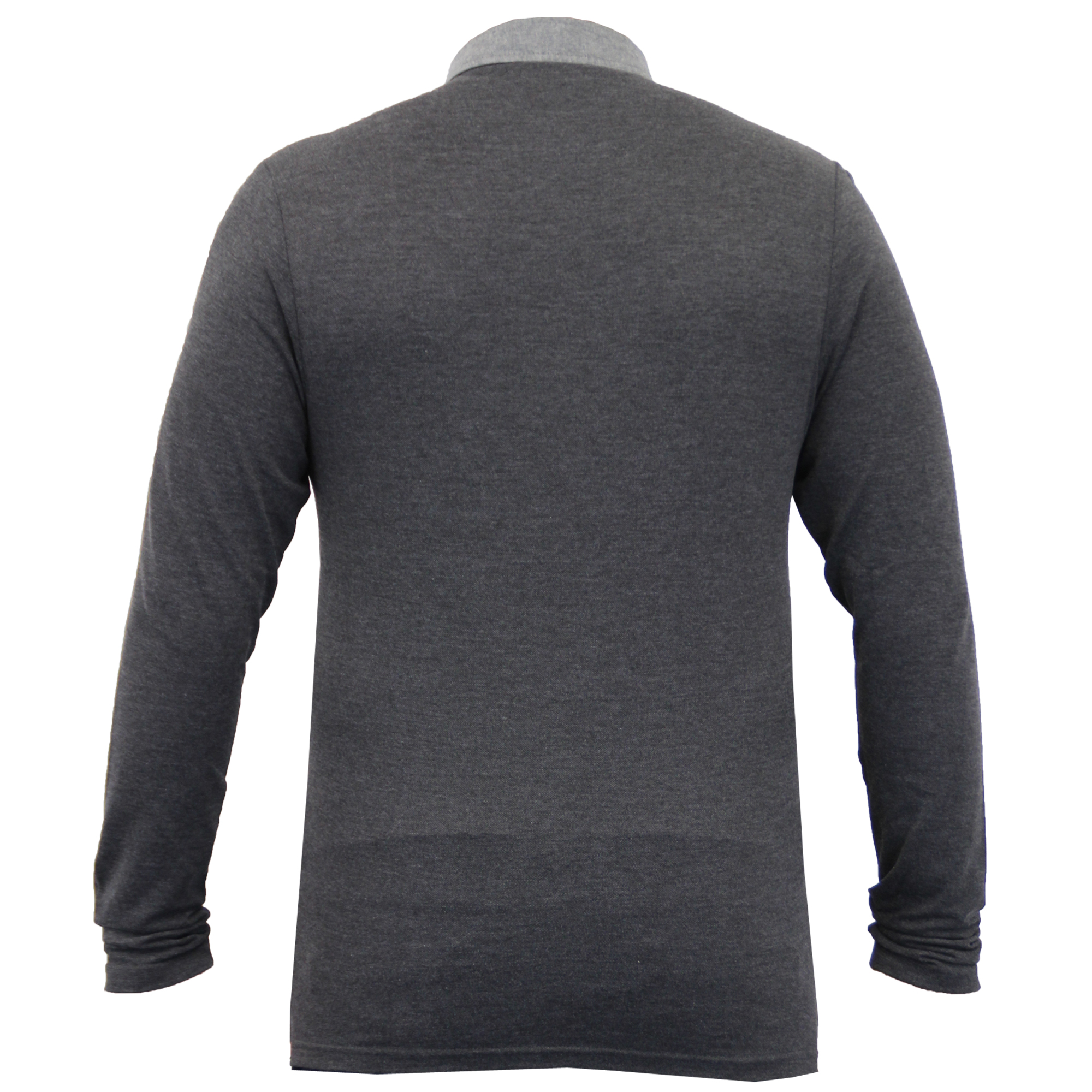 Homme-a-Manches-Longues-Jersey-Top-Brave-Soul-Pique-Polo-T-Shirt-A-Col-Ete-Neuf miniature 16