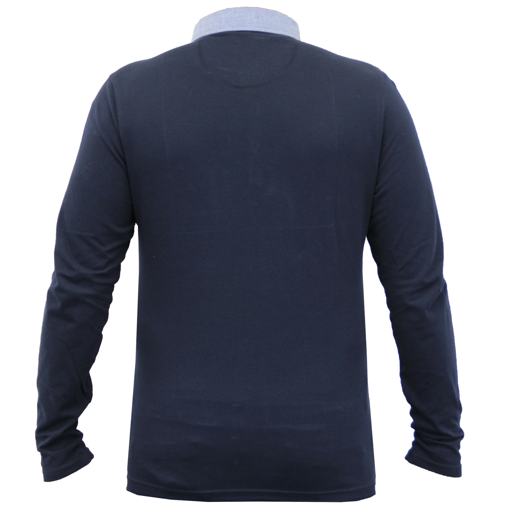 Homme-a-Manches-Longues-Jersey-Top-Brave-Soul-Pique-Polo-T-Shirt-A-Col-Ete-Neuf miniature 24