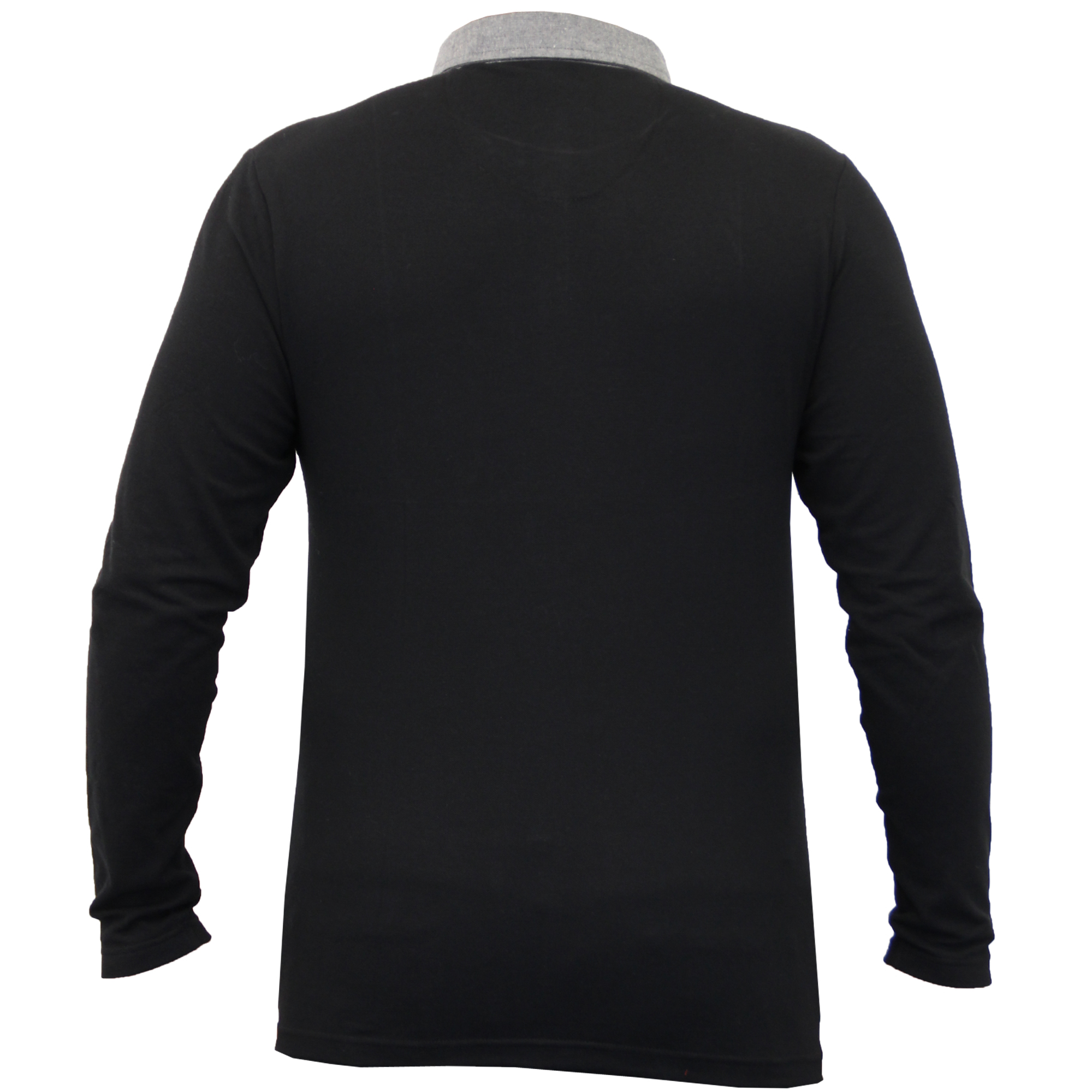 Homme-a-Manches-Longues-Jersey-Top-Brave-Soul-Pique-Polo-T-Shirt-A-Col-Ete-Neuf miniature 3