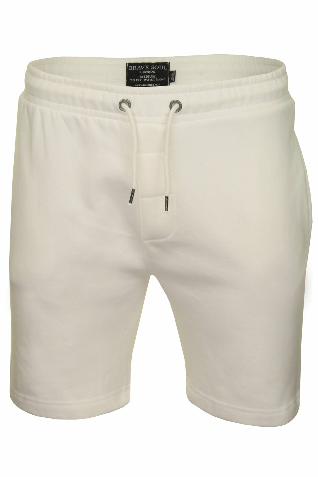 Mens-Jogger-Shorts-Tarley-by-Brave-Soul-Knee-Length-Casual-Fleece-Lined-Summer thumbnail 30
