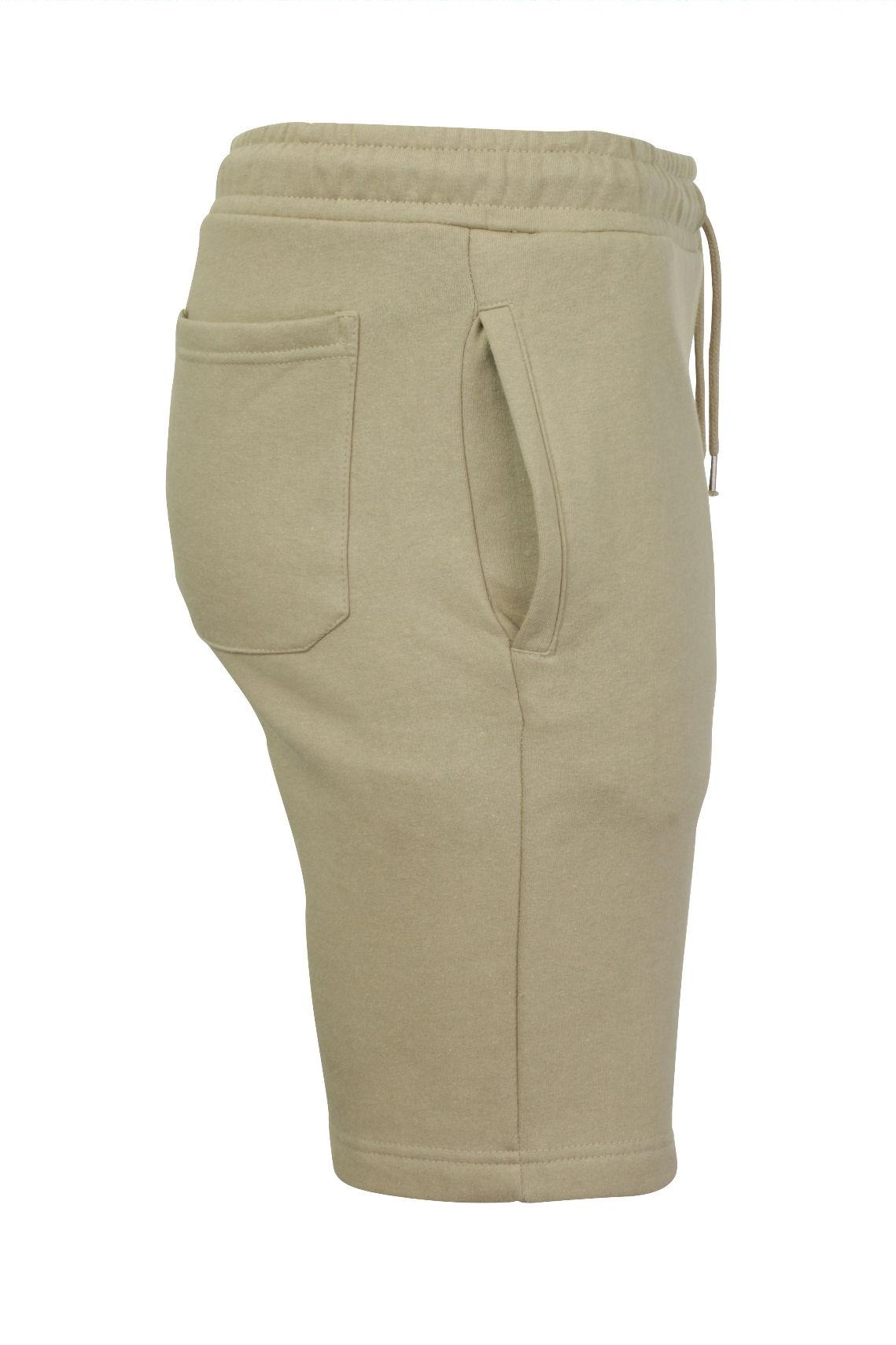 Mens-Jogger-Shorts-Tarley-by-Brave-Soul-Knee-Length-Casual-Fleece-Lined-Summer thumbnail 38
