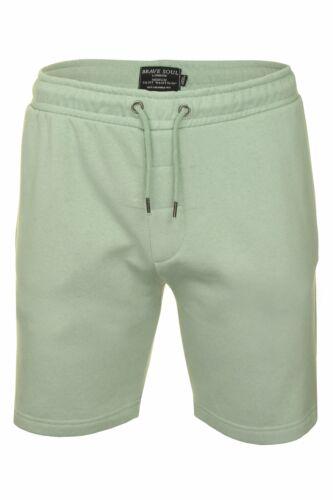 Mens-Jogger-Shorts-Tarley-by-Brave-Soul-Knee-Length-Casual-Fleece-Lined-Summer thumbnail 13