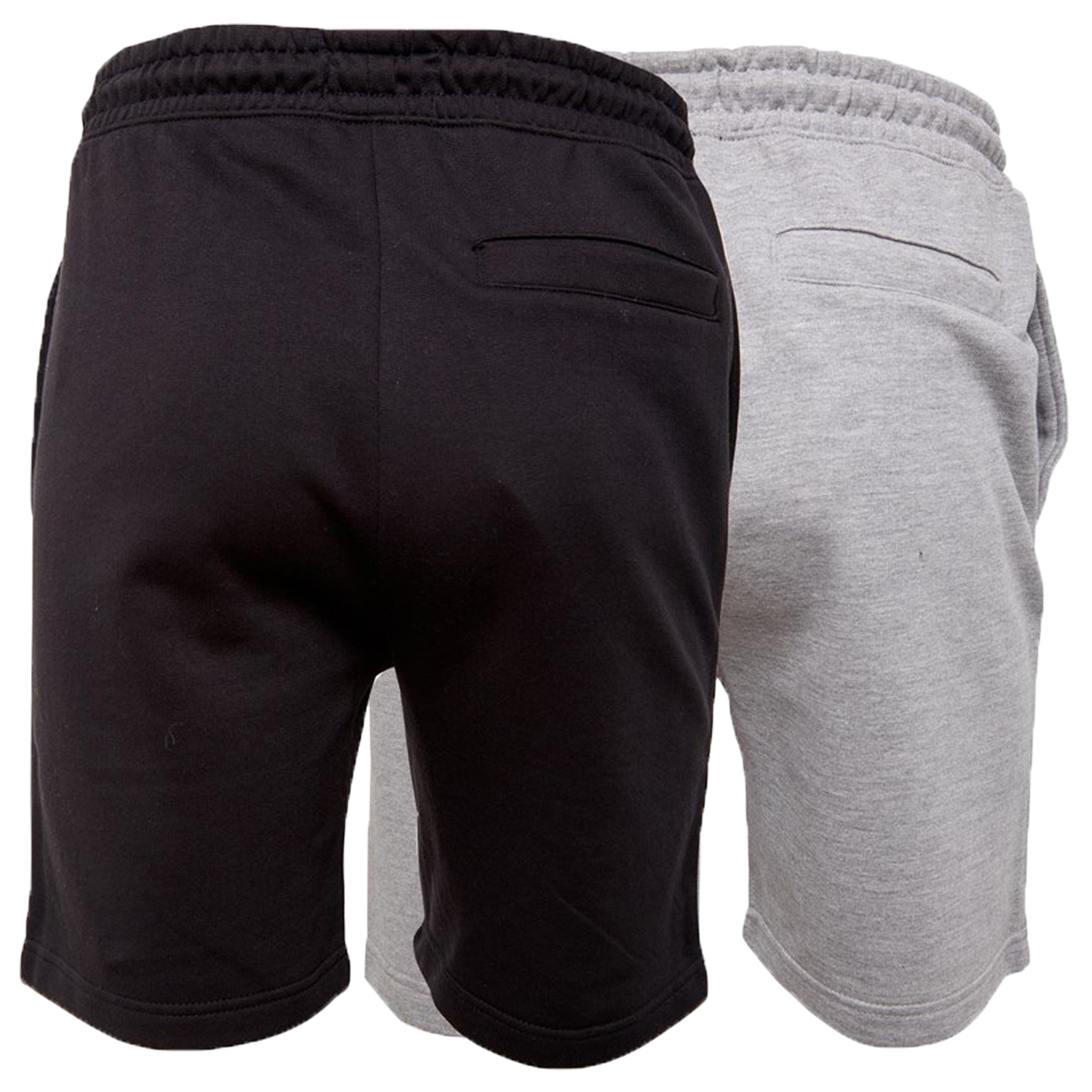 Mens-Brave-Soul-2-Pack-Over-The-Head-Hoodie-Shorts-Brushed-Back-Fleece-Fashion thumbnail 6