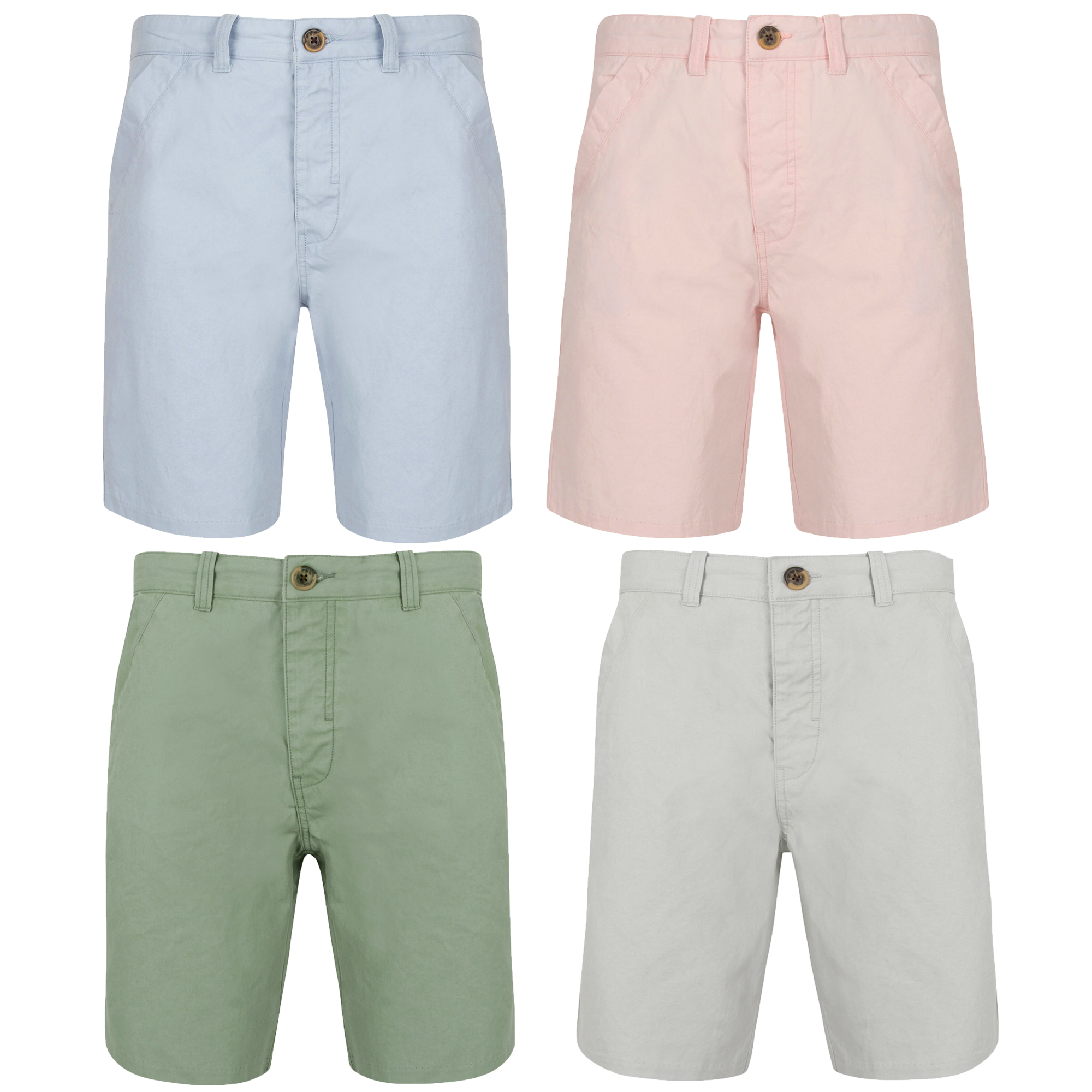 Men/'s Tokyo Laundry Chino Cotton Shorts With Belt Smart Summer Casual Jean Cargo