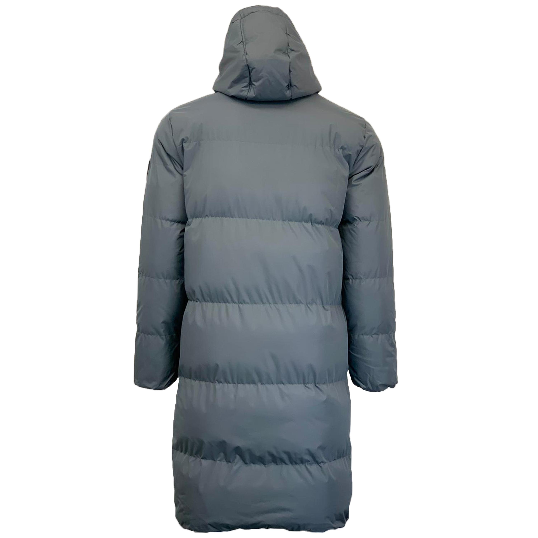 Mens Longline Parka Jacket By Soul Star Puffer Padded Hooded Winter Coat Zip New
