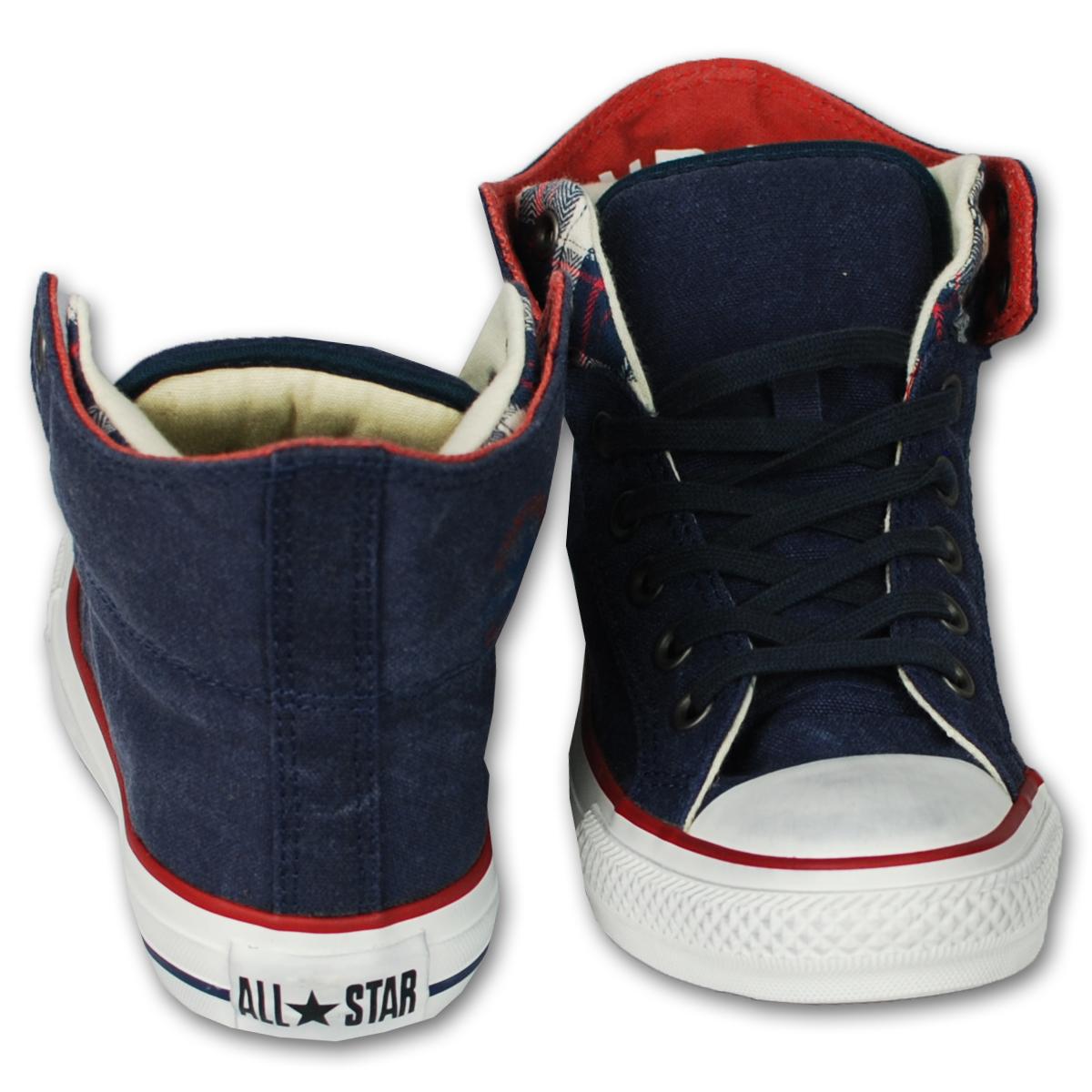 Lace Up de Star All Hi marino lona Casual Converse para Azul deporte Zapatillas de hombre Zapatillas Top Zapatillas 4qBpgw6q