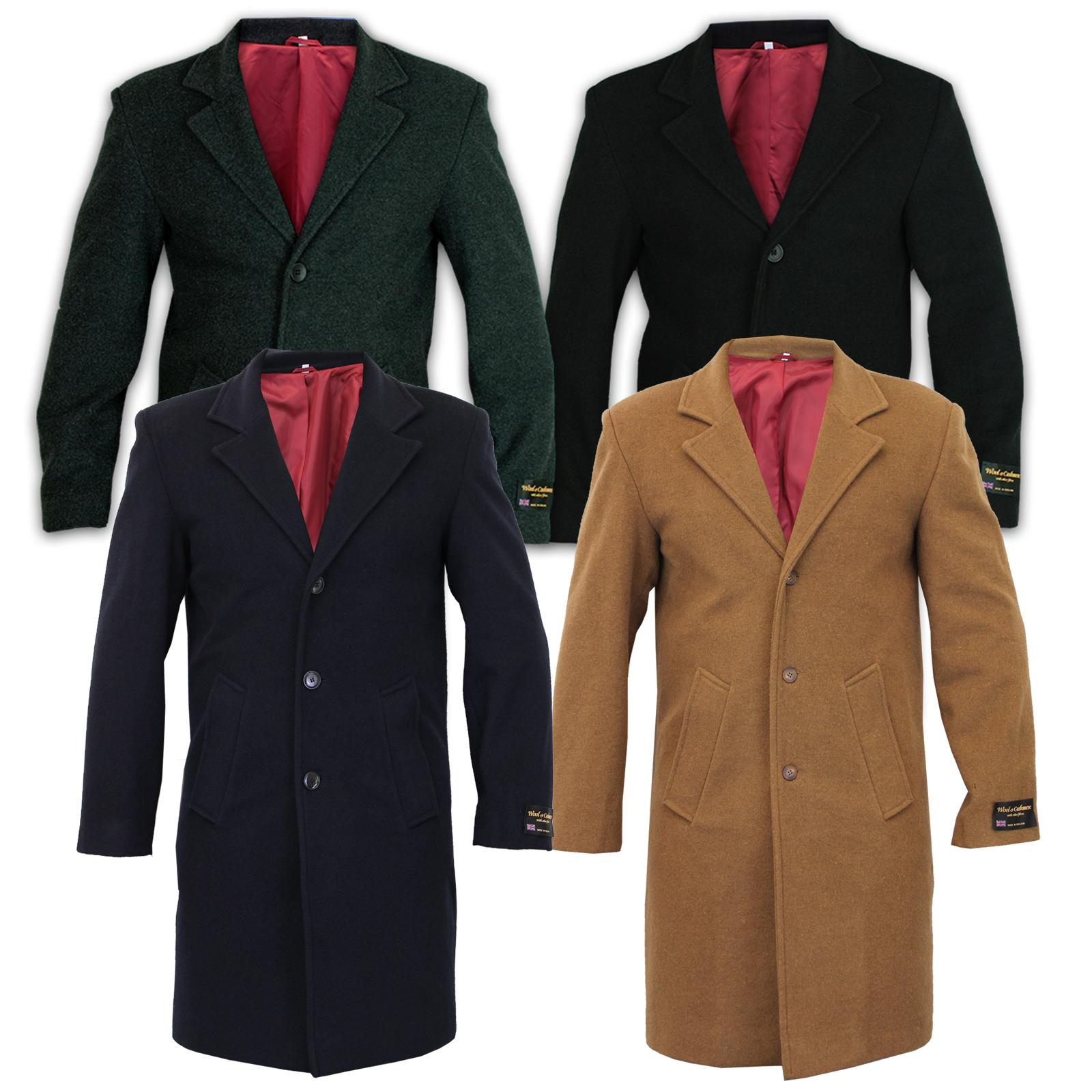 herren wolle kaschmir mantel jacke oberbekleidung grabenzieher warm winter ebay. Black Bedroom Furniture Sets. Home Design Ideas